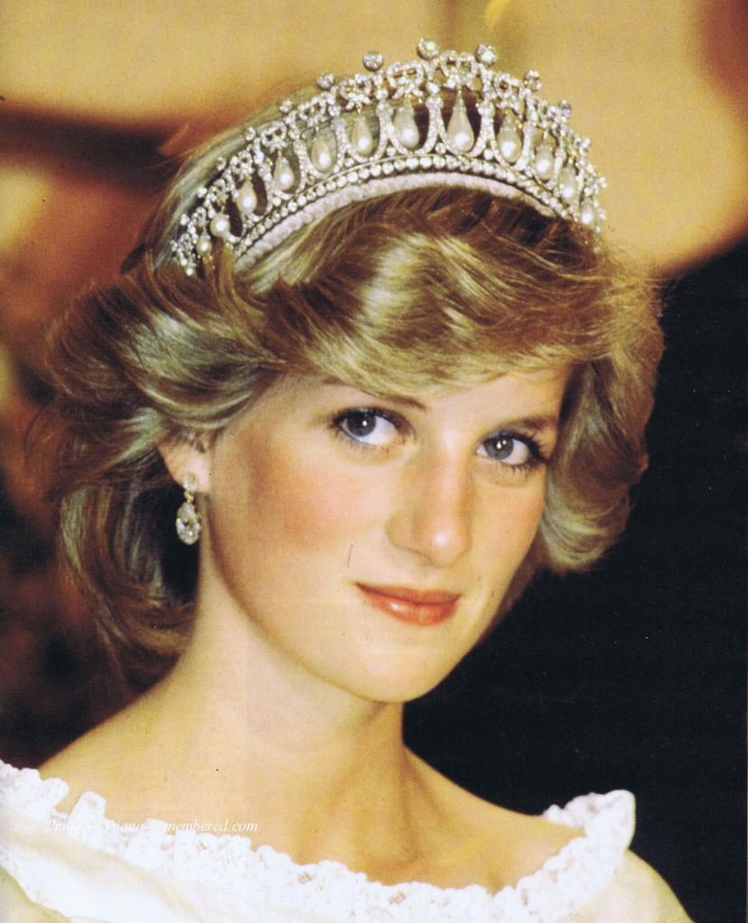 """Diana, """"Su Alteza Real la Princesa de Gales"""""""