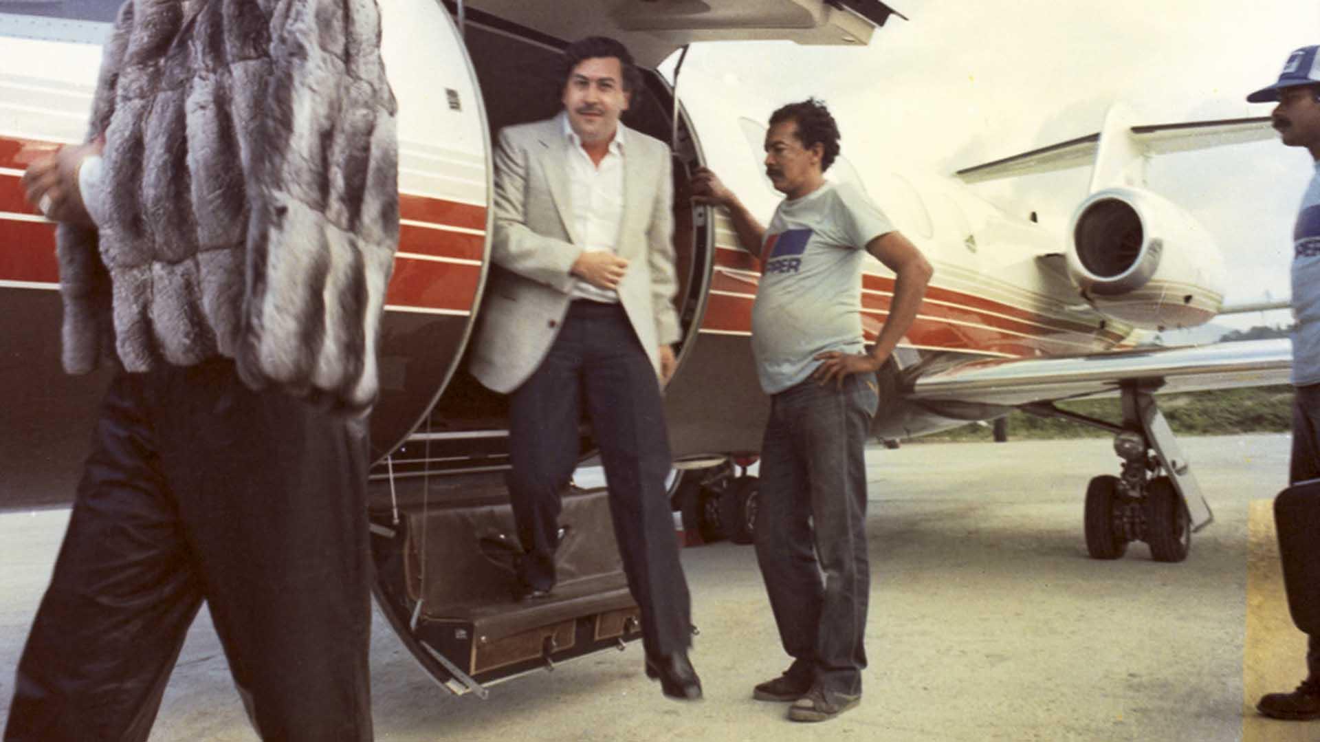 """Pablo Emilio Escobar Gaviria, en su época de """"gloria"""". Pronto llegaría la era de la guerra contra el gobierno central y los demás carteles, entre los que estaba el de Cali"""