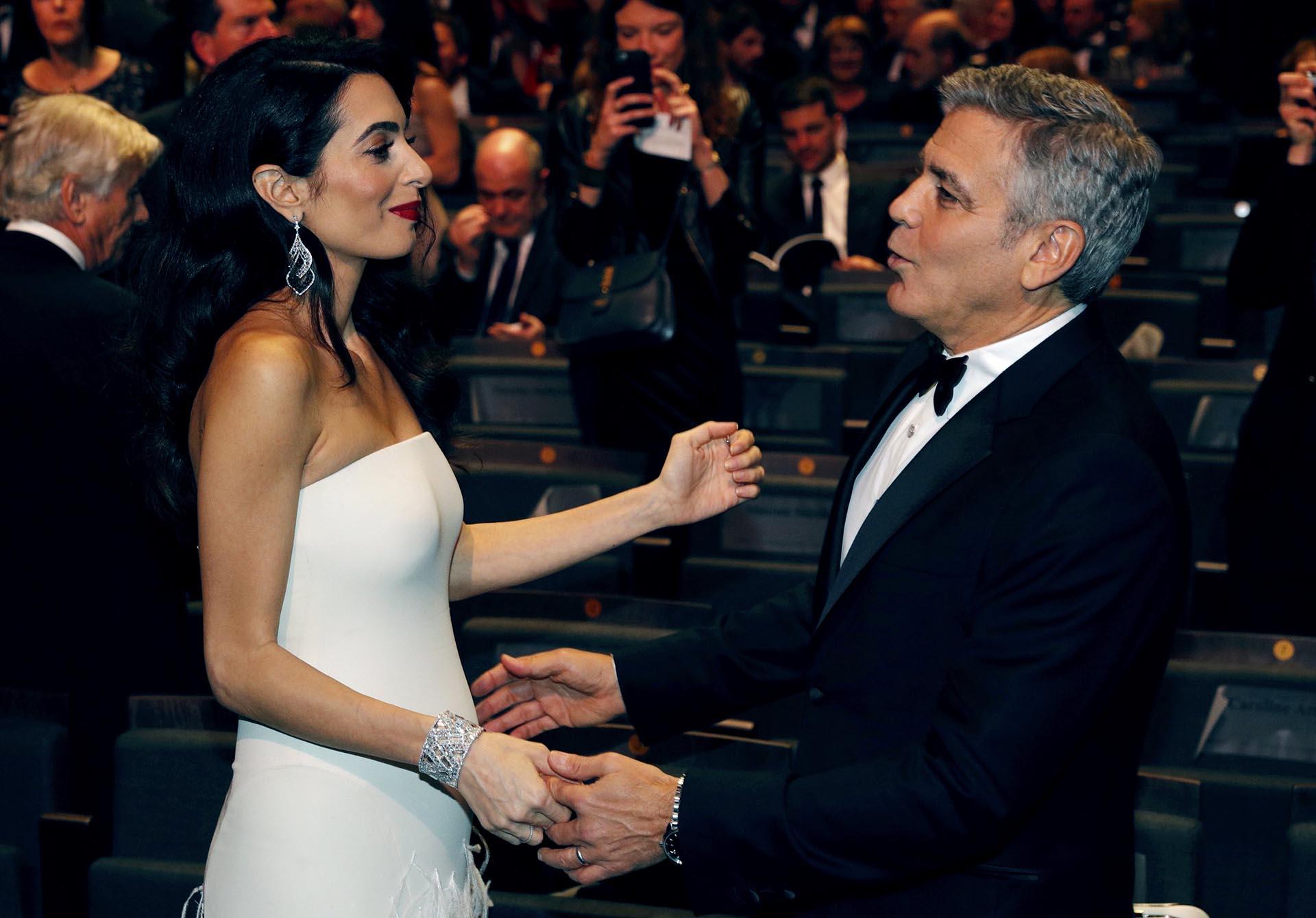 Nacieron Ella y Alexander, los gemelos de Amal Alamuddin y George Clooney. La pareja se conoció en 2013 y ahora formaron una hermosa familia