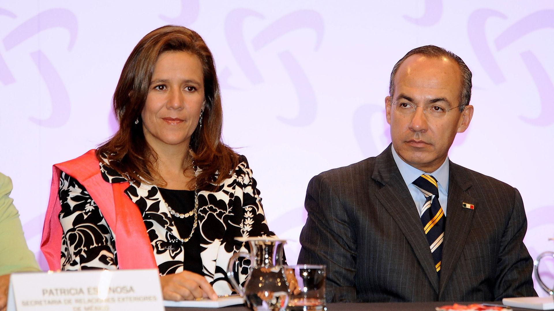 Felipe Calderón y su esposa Margarita Zavala buscan crearun nuevo instituto político. (Foto: Getty Images)