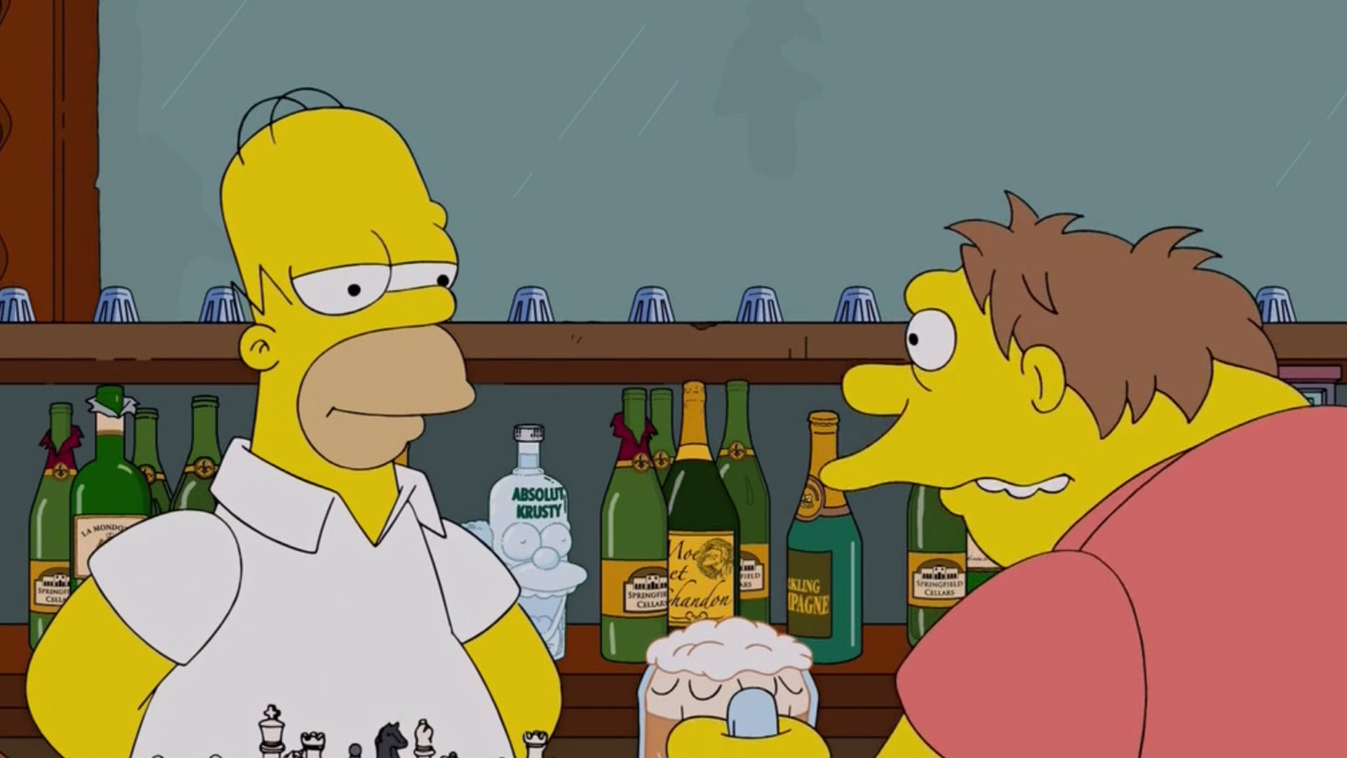 Muchos chistes de Los Simpsons no superaron la instancia del guión y nunca llegaron a la pantalla