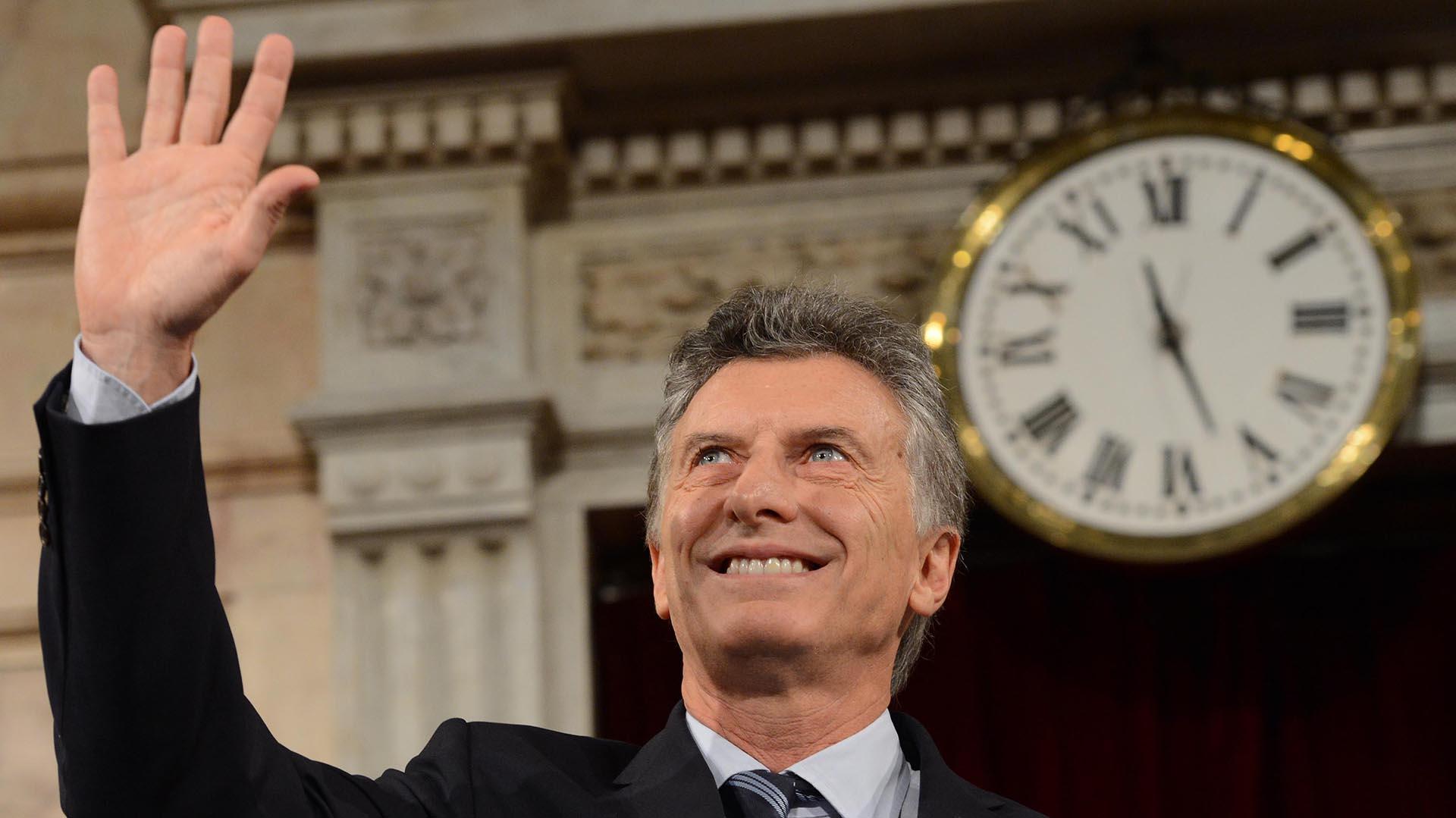 Macri en la apertura de sesiones ordinarias en el 2017