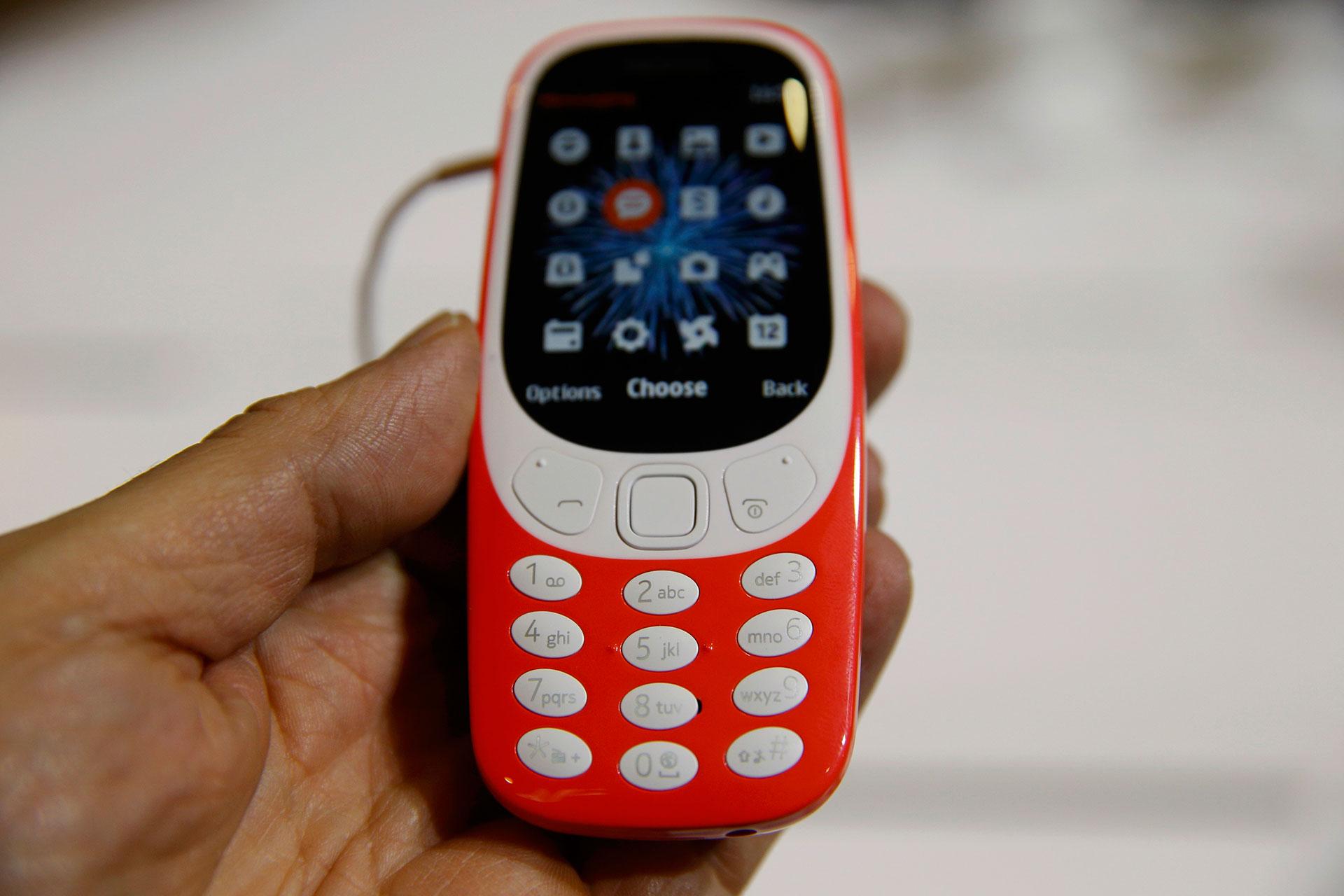 Para los nostálgicos, se relanzó el mítico Nokia 3310