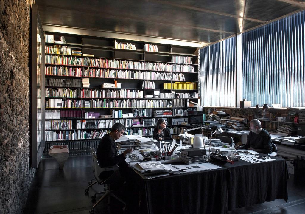 """El """"laboratorio"""" Barberí, donde los arquitectos planean y desarrollan sus obras"""