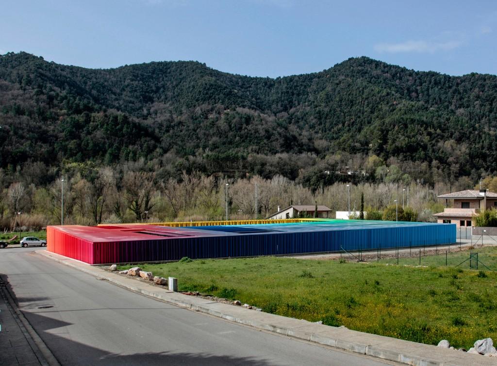 El kindergarten Petit Comte, en Girona