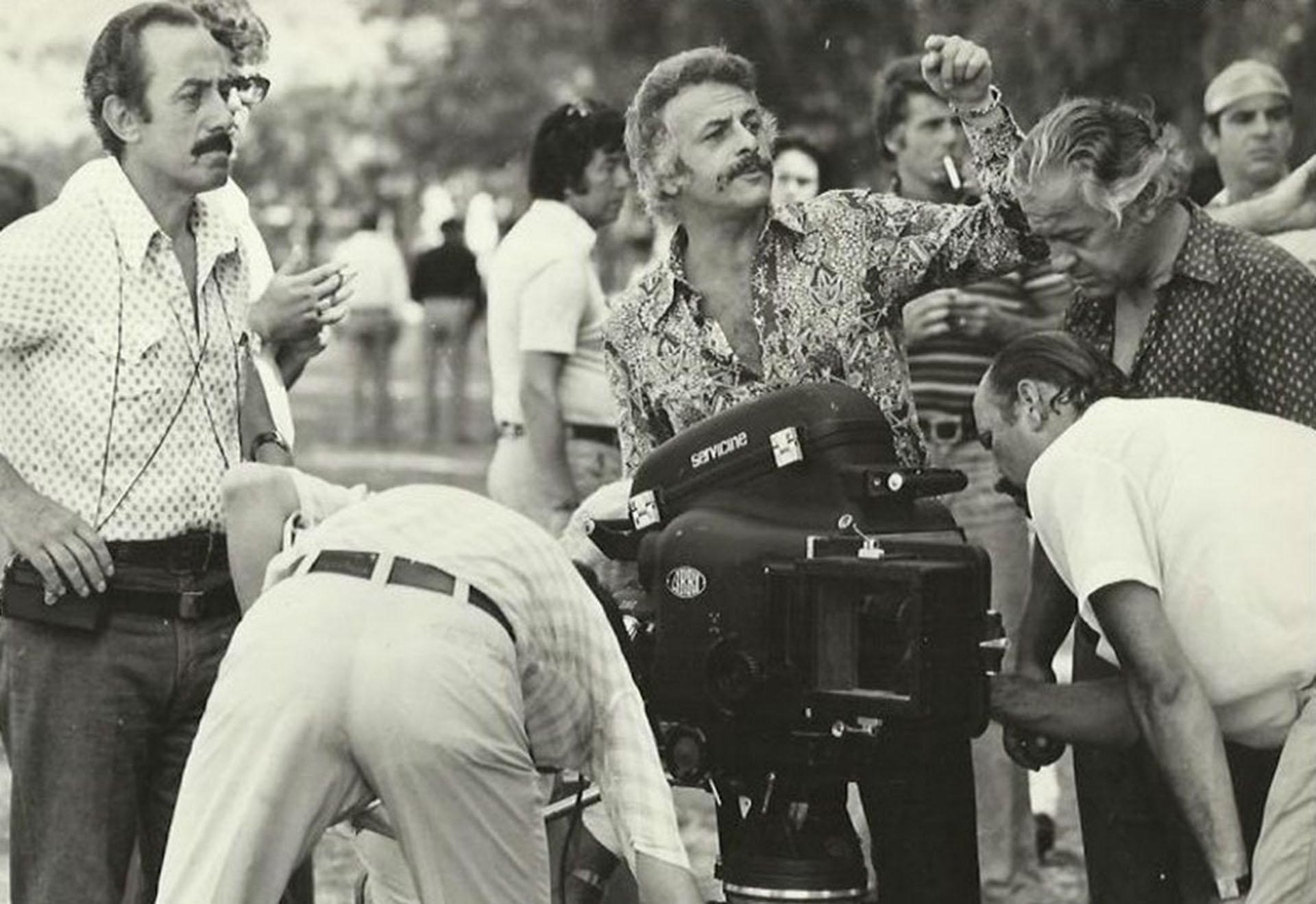 El reconocido director, durante sus primeros años en televisión