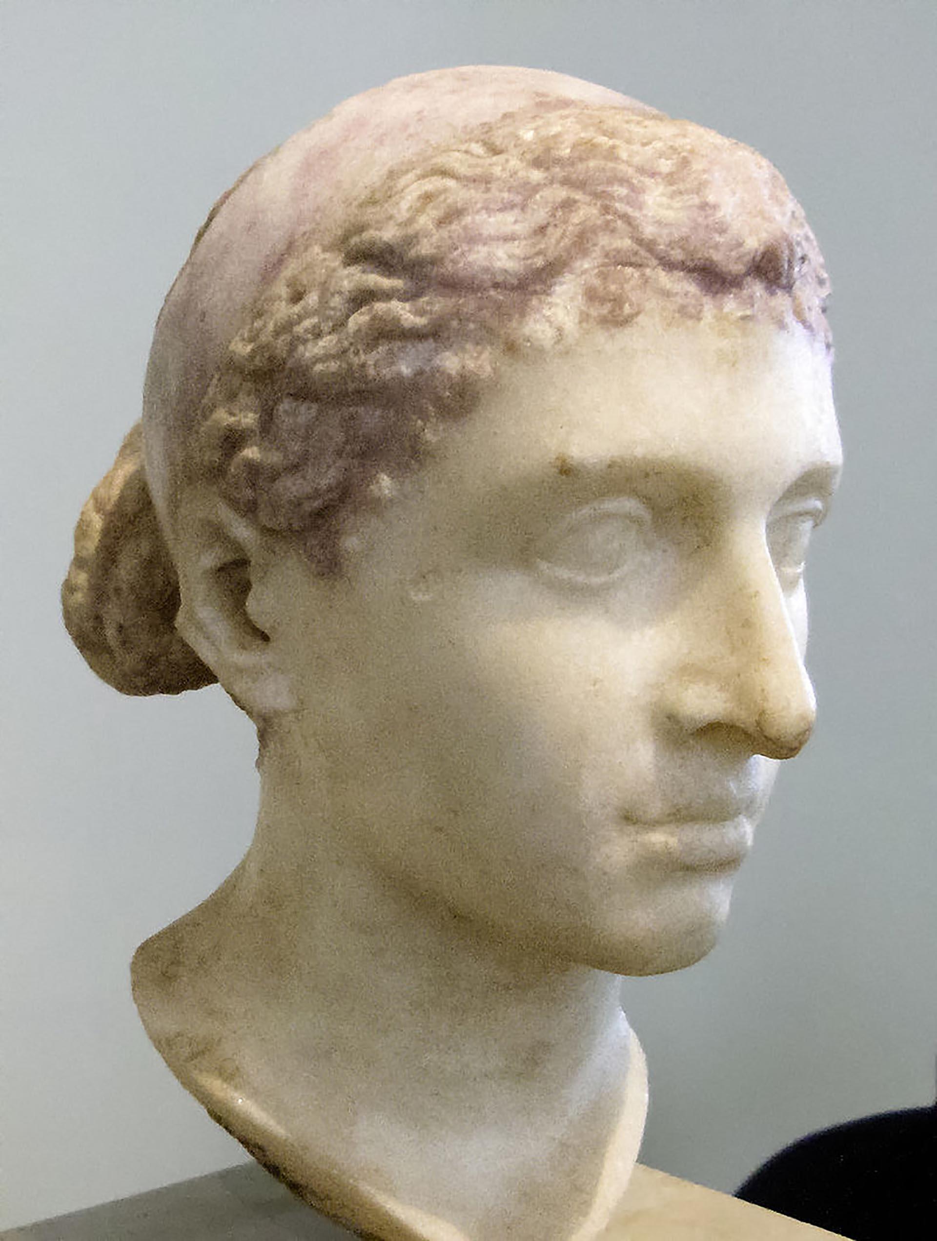 Escultura de Cleopatra