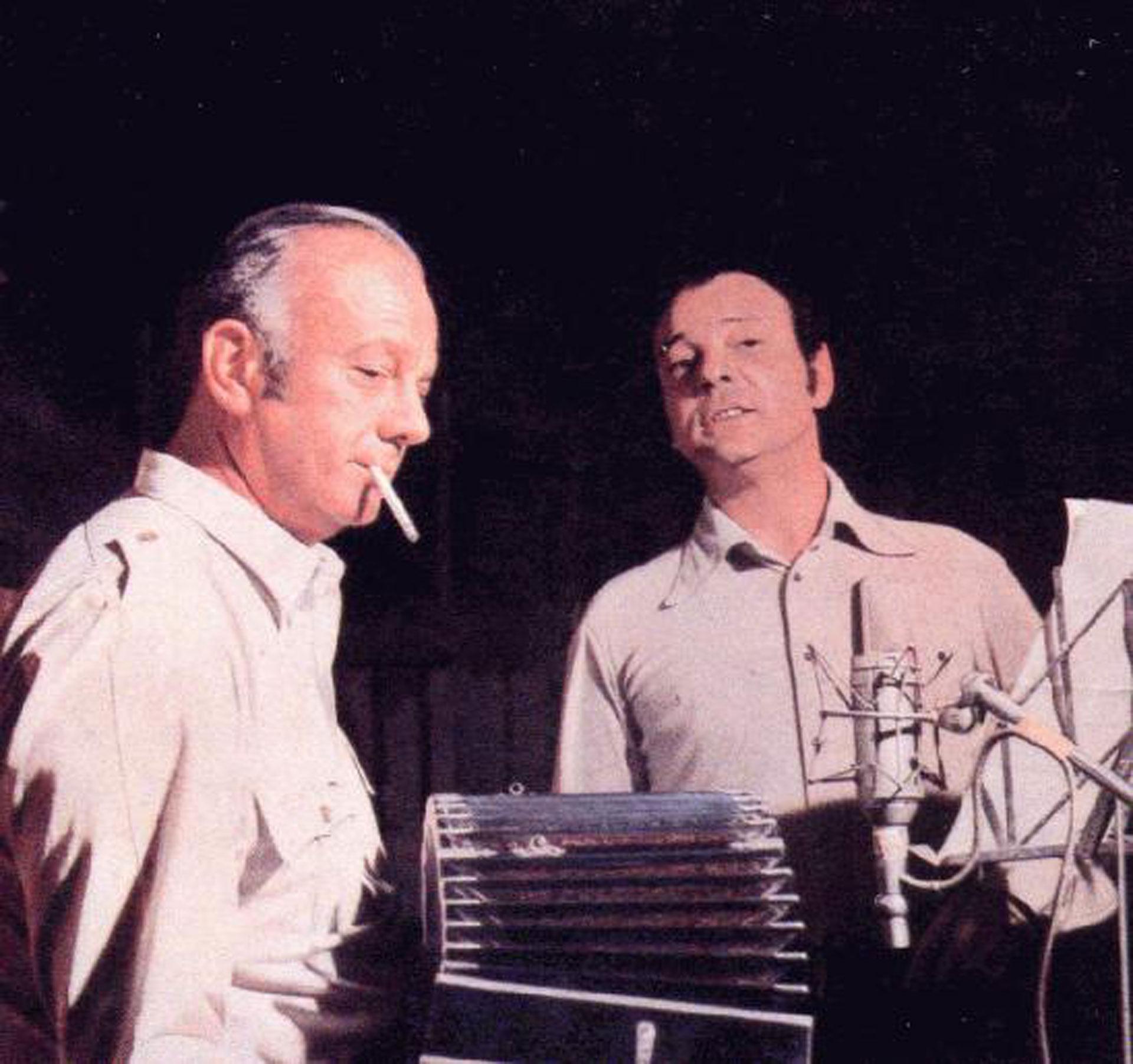 Piazzolla y Horacio Ferrer