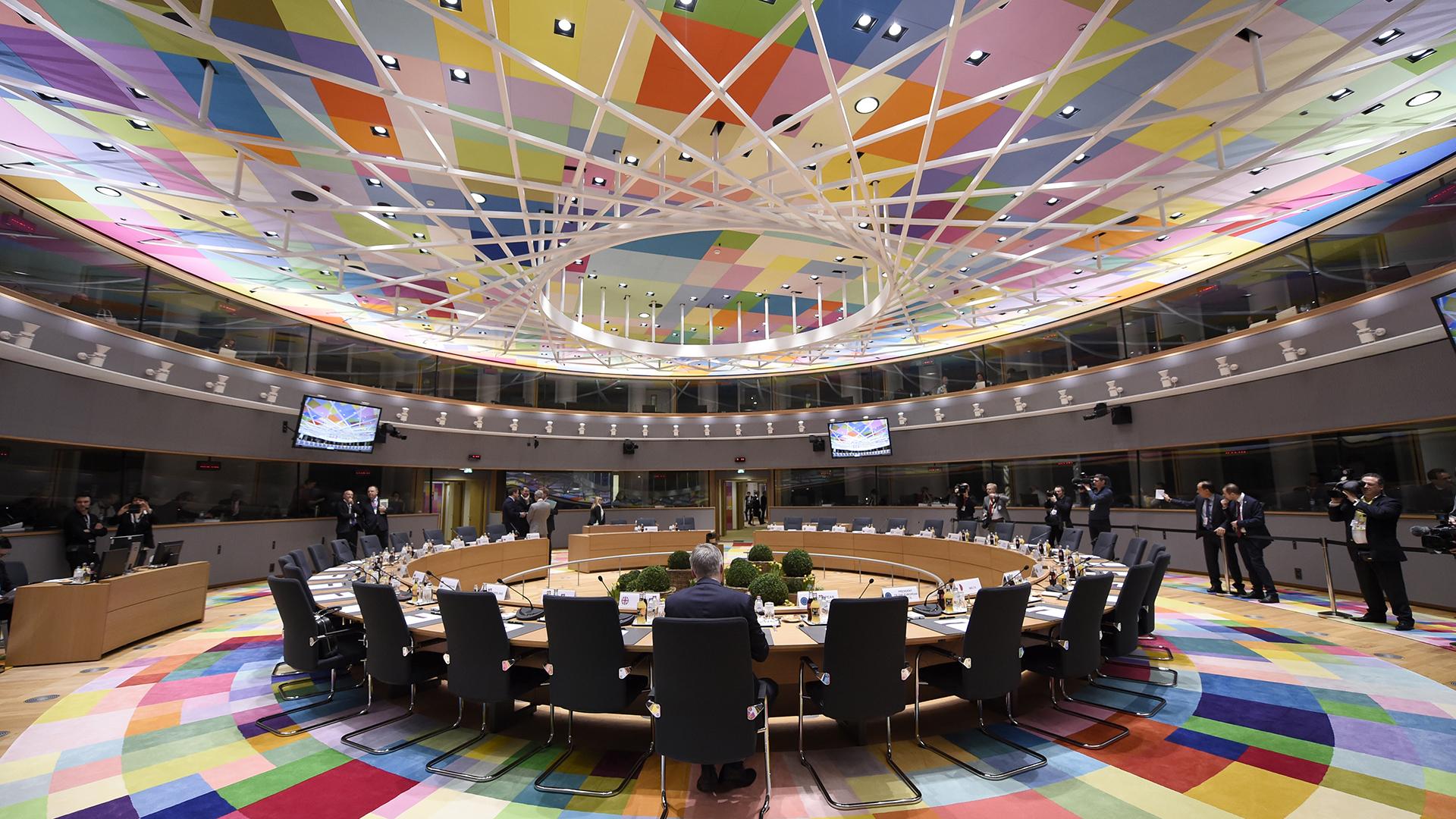 La sede del Consejo Europeo y el Consejo de la Unión Europea, en Bélgica(AFP)