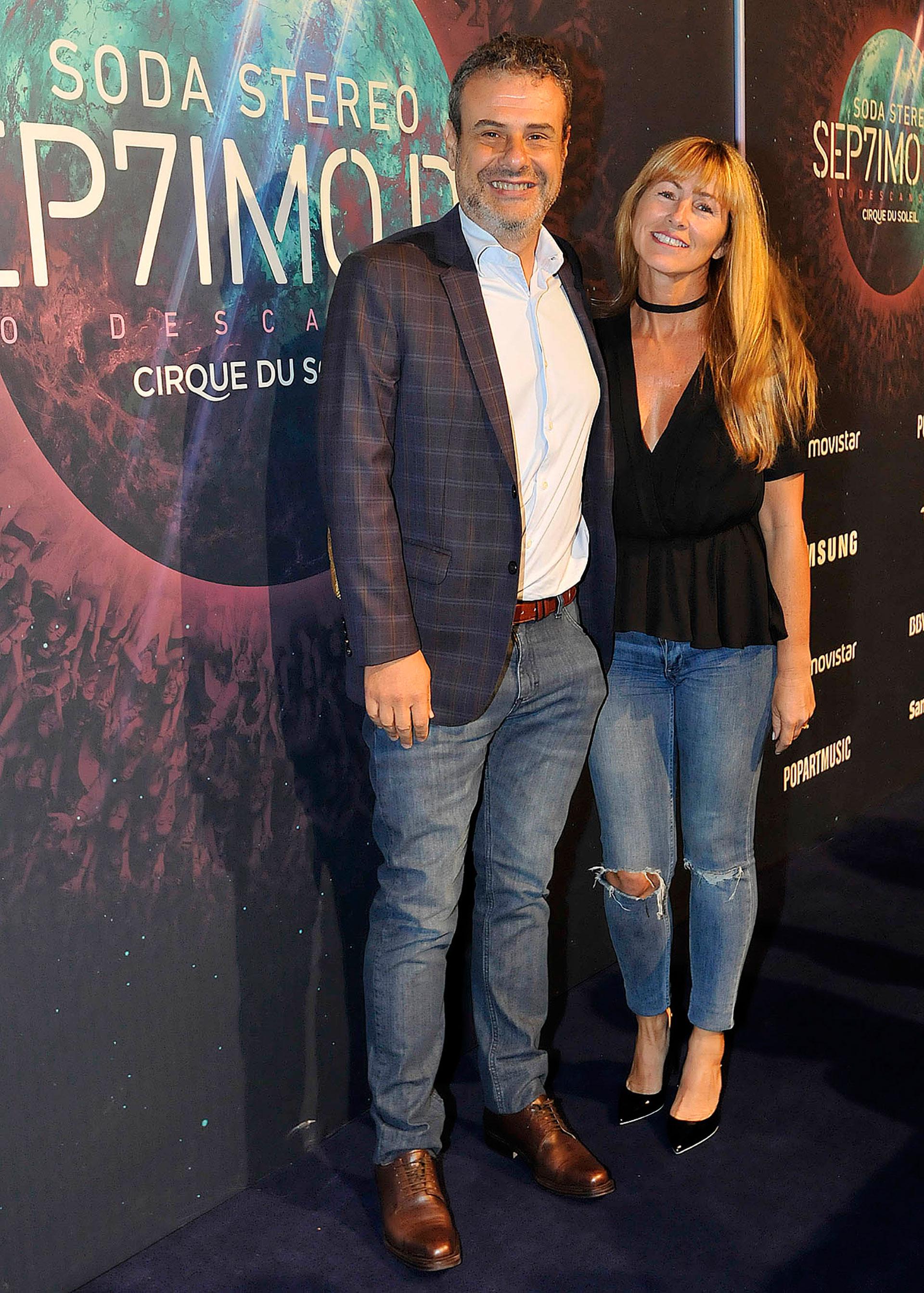 Ari Paluch y su mujer