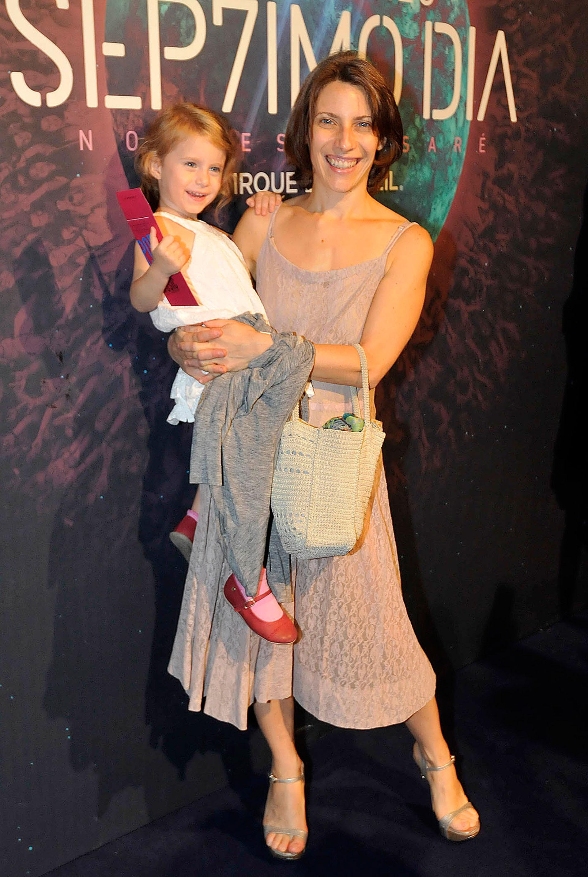 Elena Roger y su hija