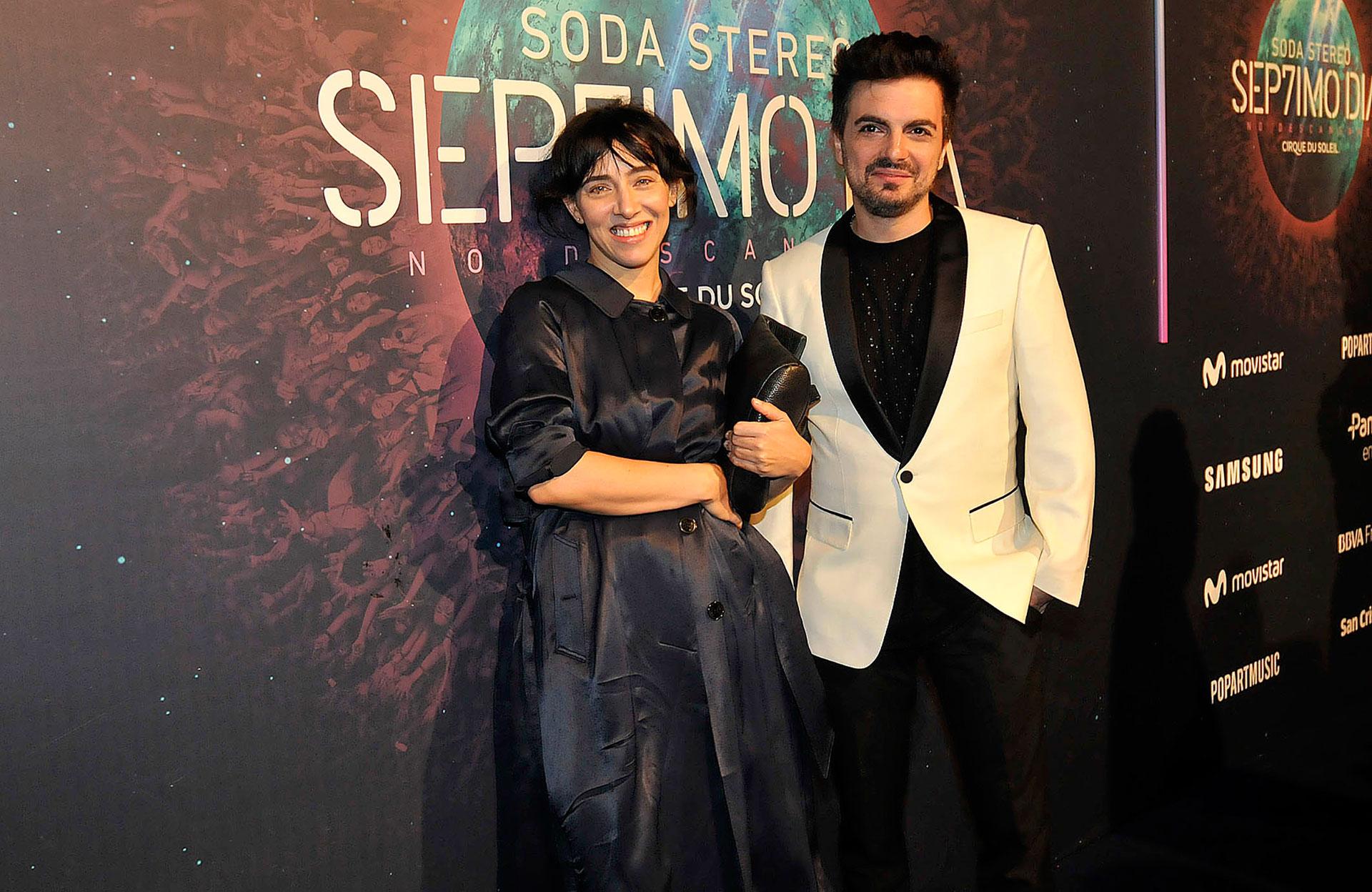 Ale Sergi y Juliana Gattas de Miranda
