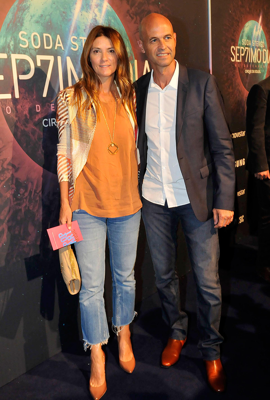 Guillermo Dietrich y su pareja