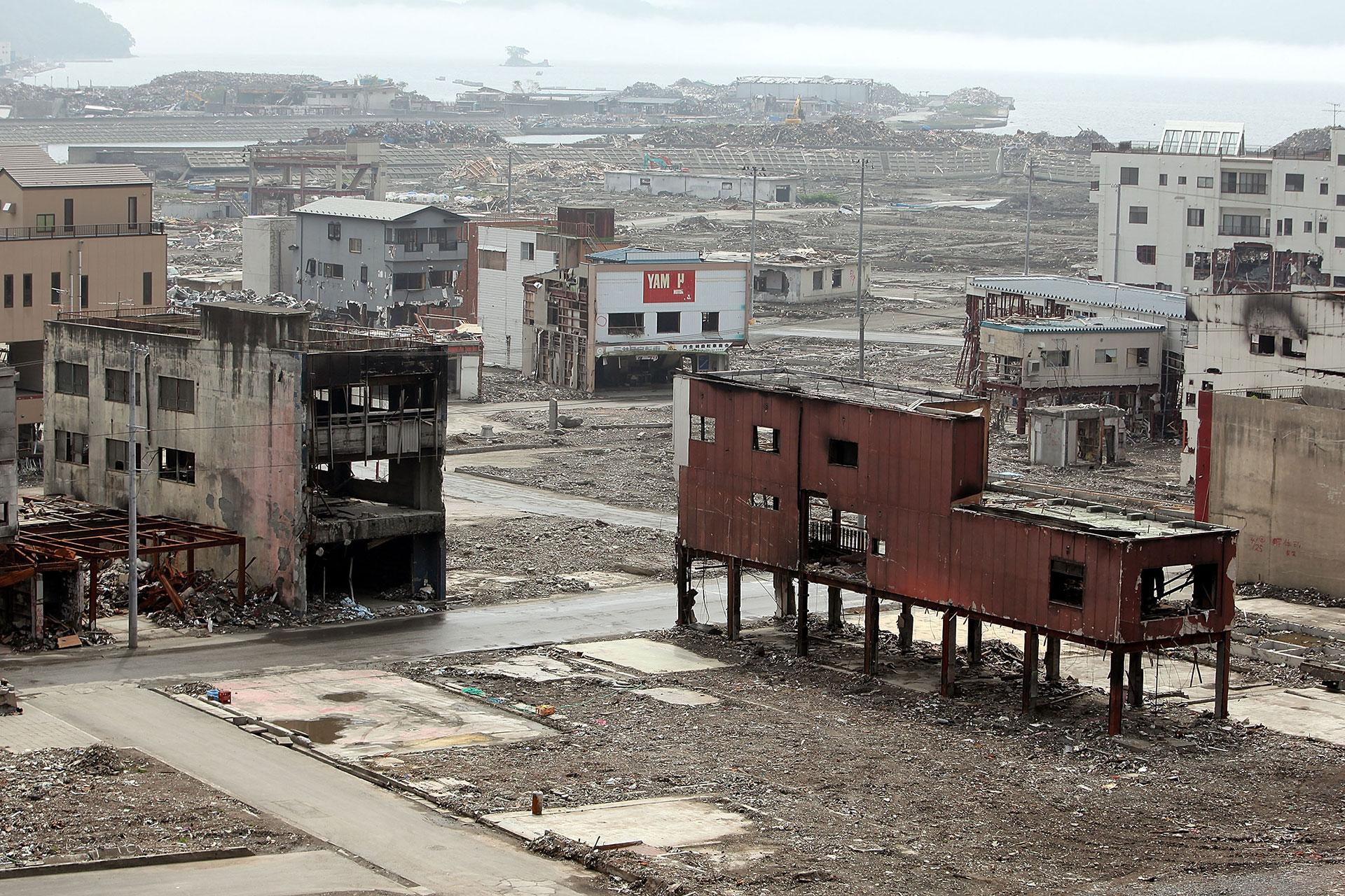 El 11 de marzo de 2011 una triple catástrofe azotó Fukushima, que es hoy apenas uncementerio de cosas
