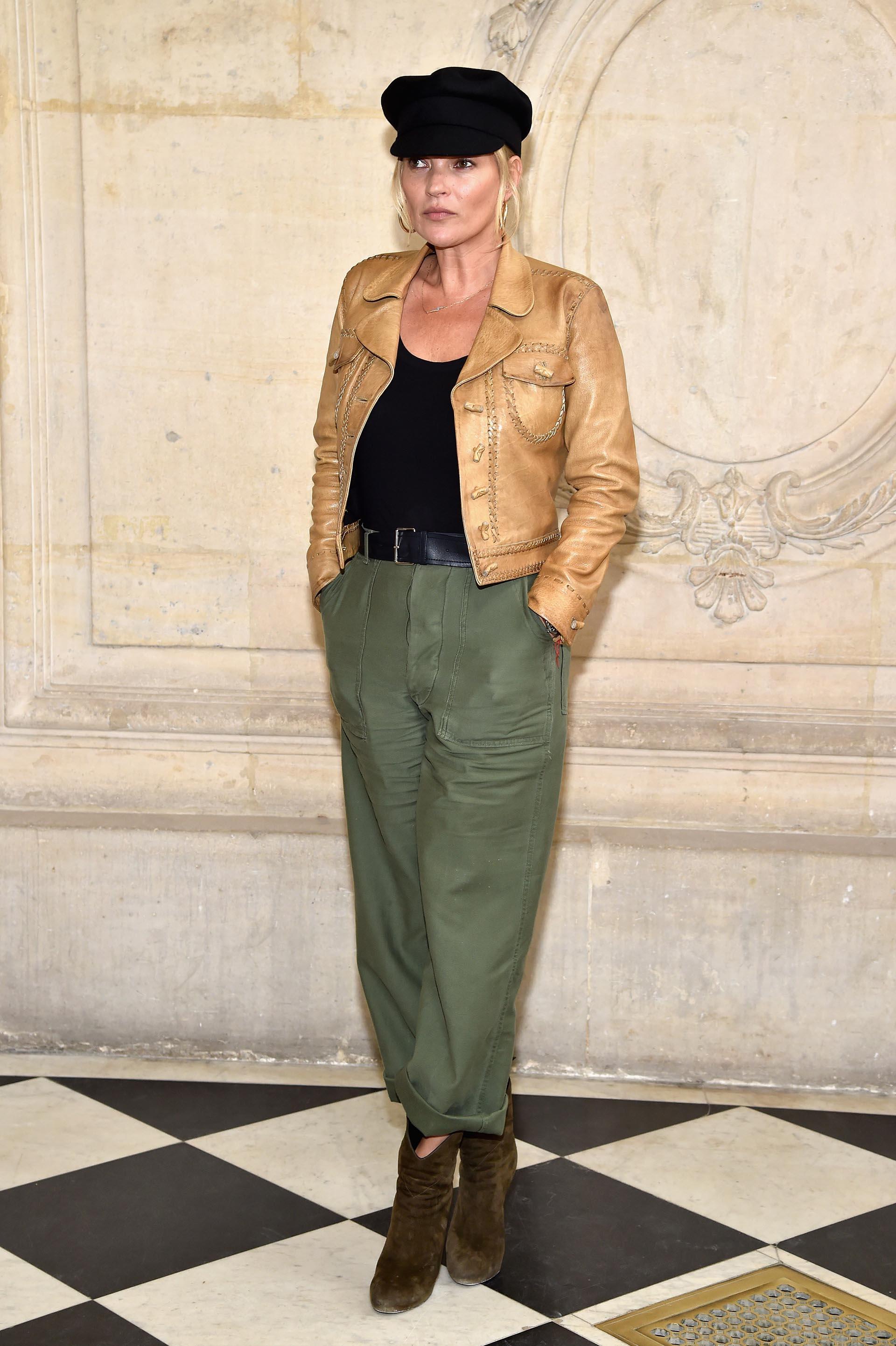 El estilo informal de Kate Moss