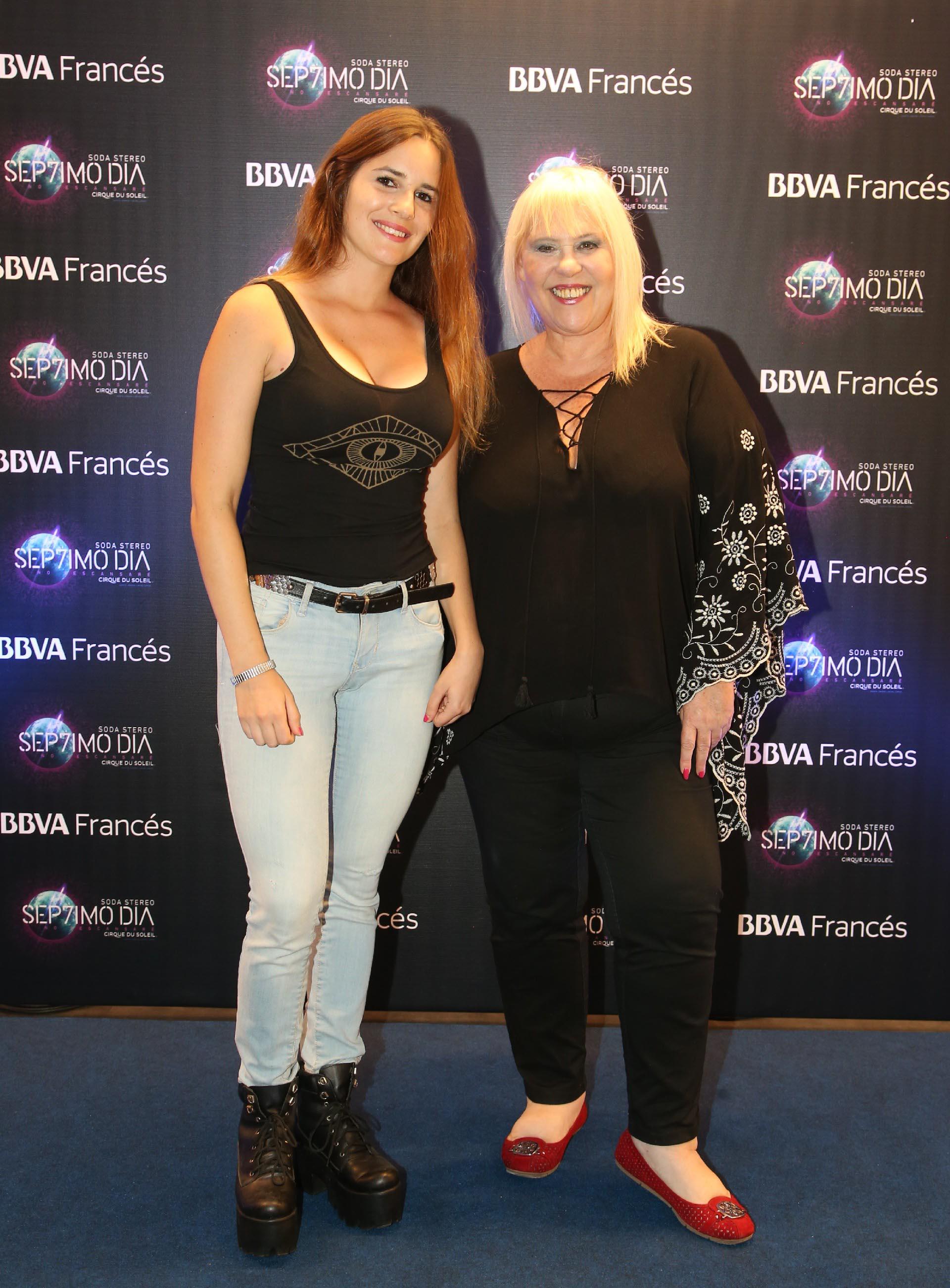 Laura Ubfal y su hija Alma Gandini