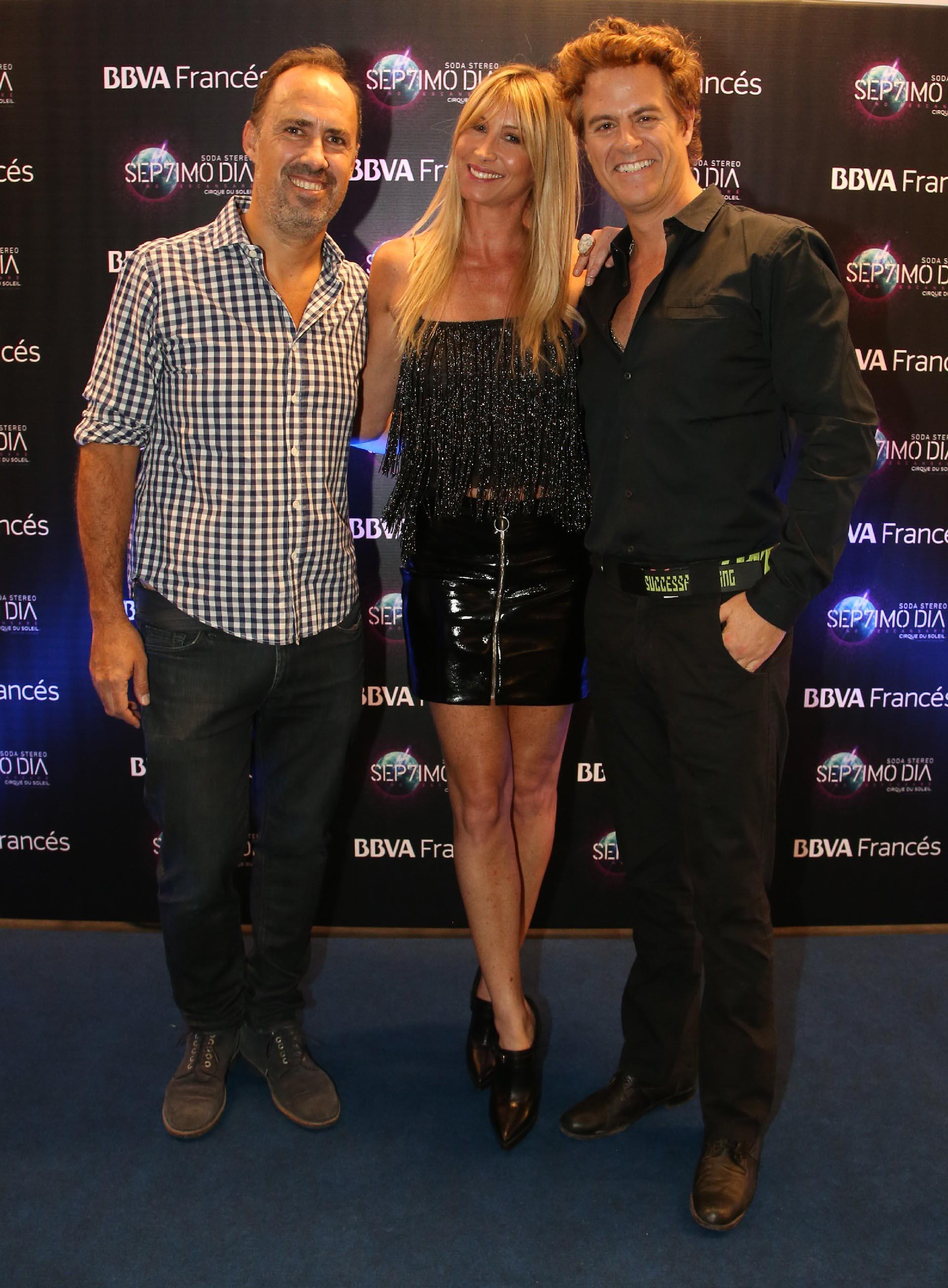 Charly Ronco, Soledad Solaro y Mike Amigorena /// Fotos: BBVA Francés y Nicolás Aboaf