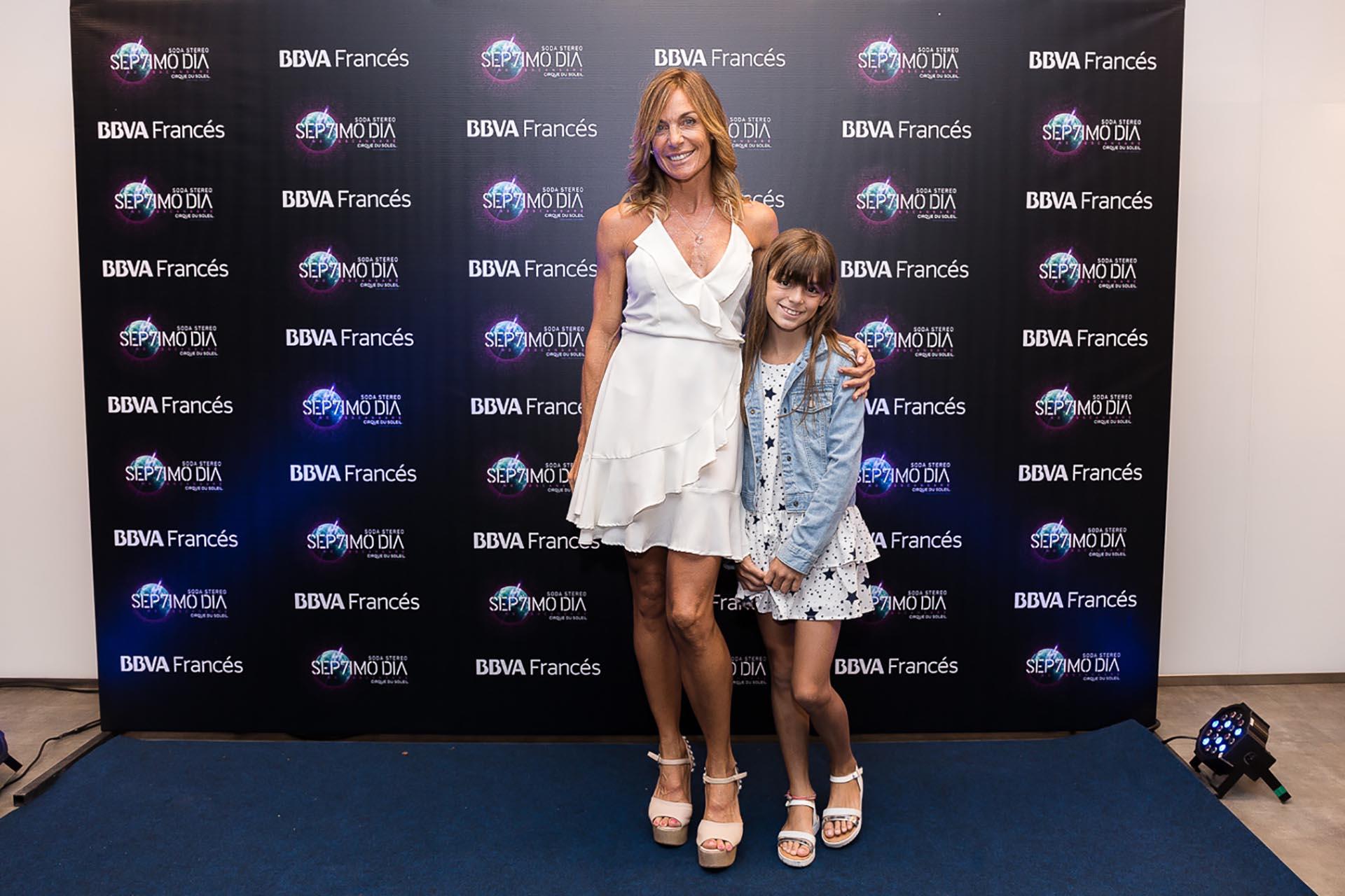 Paula Trápani y su hija Milena