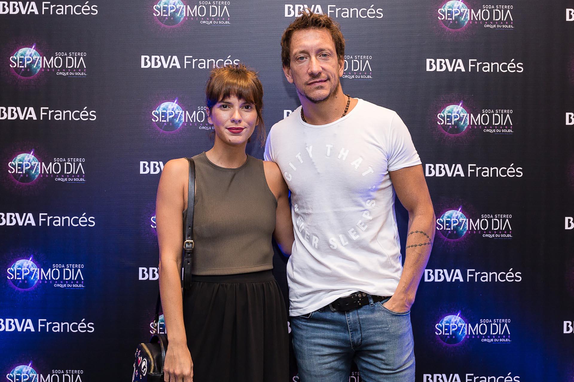 """Gimena Accardi y Nicolás Vázquez eligieron """"Sép7imo Día"""" para su primera salida en Buenos Aires, después de la temporada teatral de verano en la que brillaron en """"El otro lado de la cama"""""""