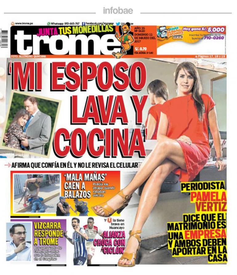 Trome Perú 12 De Marzo De 2017 Factor Noticia