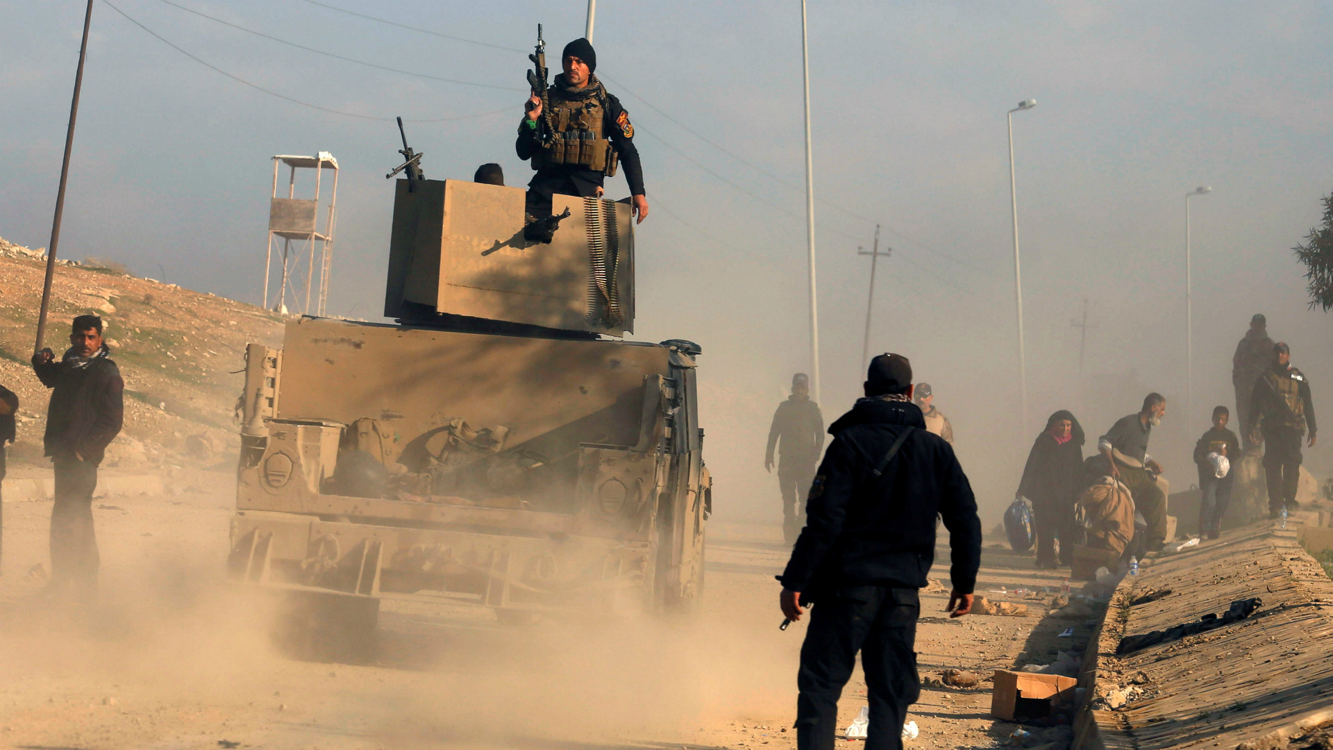 ISIS mantiene su asedio sobre Deir Ezzor