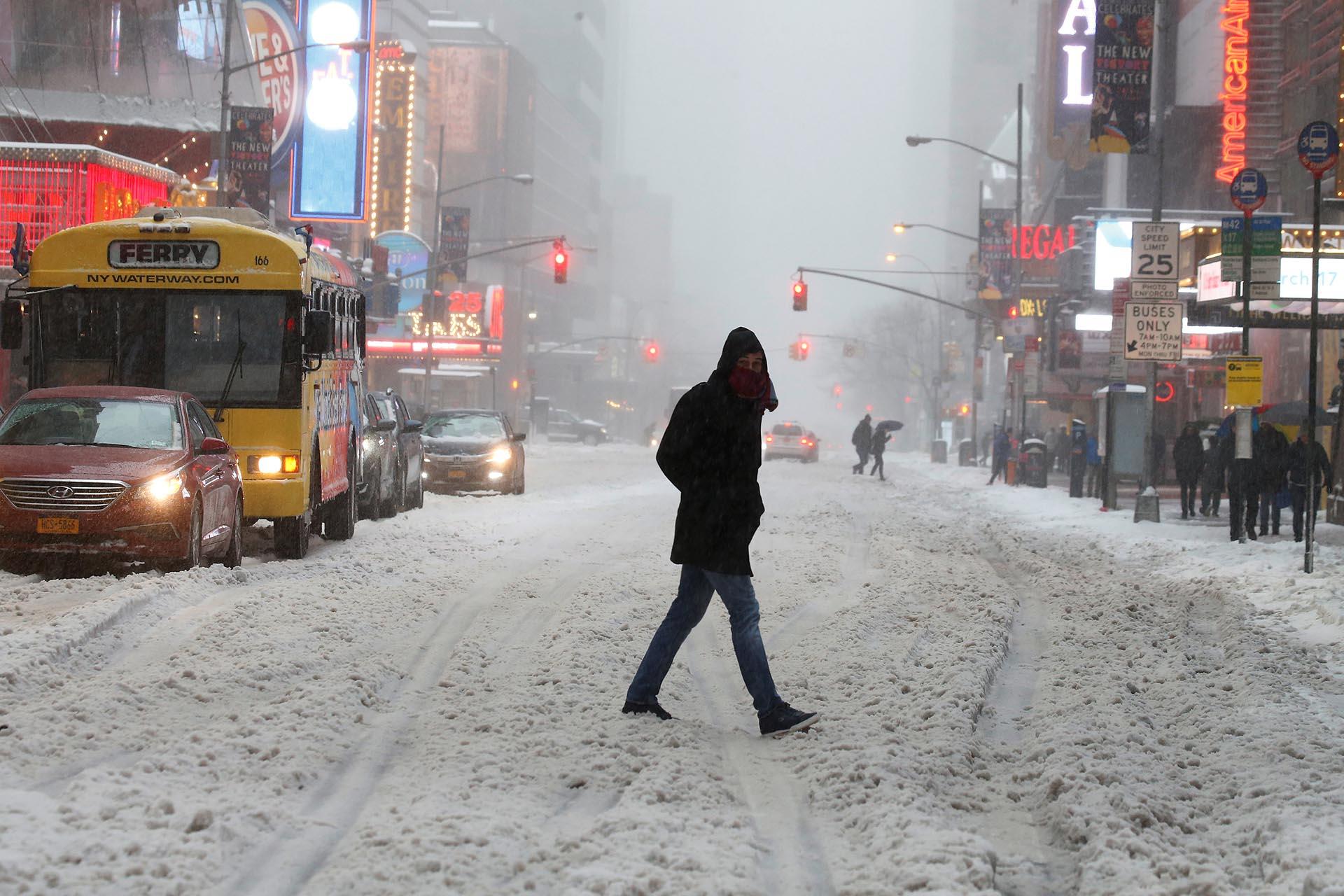 Times Square, en el corazón de Manhattan