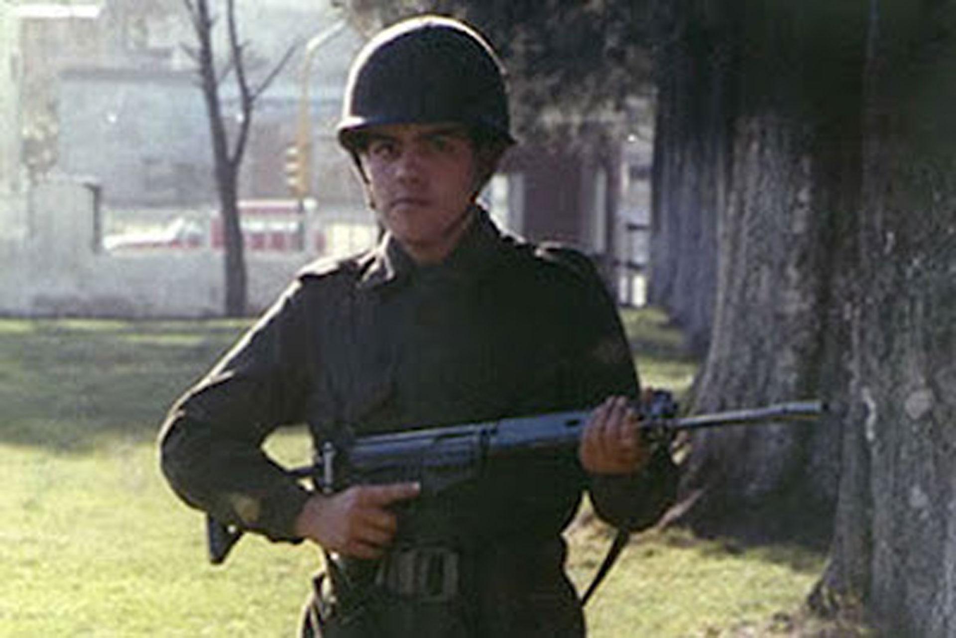 Julio Rubén Cao murió a los 21 años en la batalla de Monte Longdon el 10 de junio de 1982