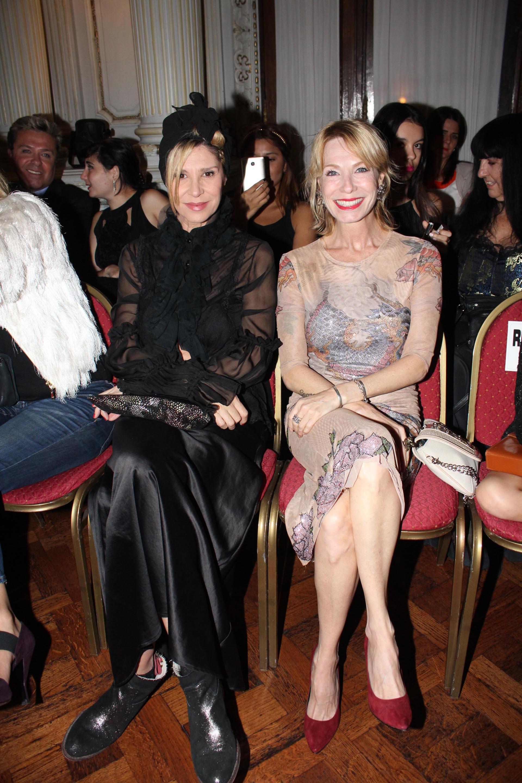 María Carámbula y Gloria Carrá en primera fila