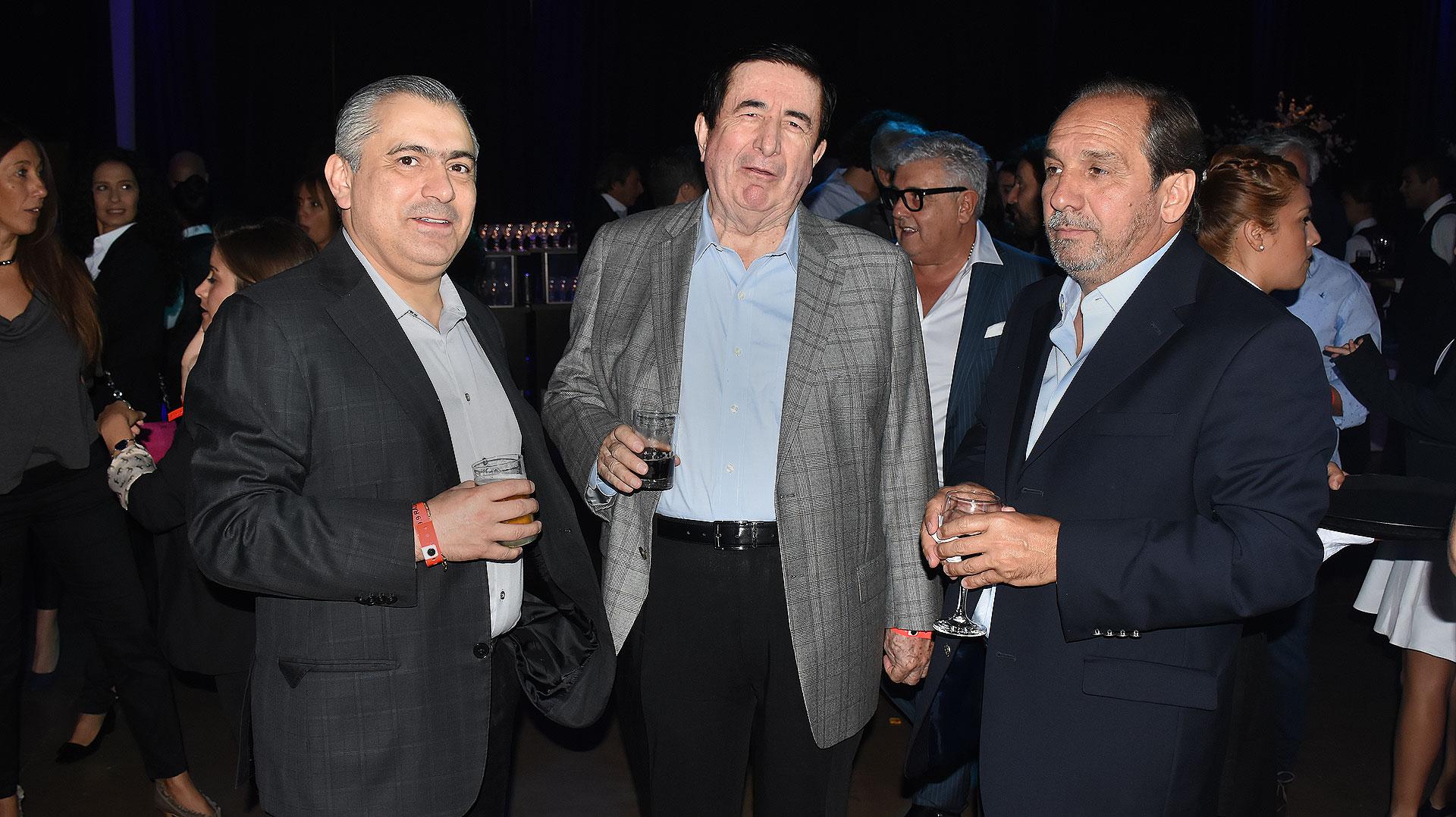 Santiago Nieto, Jaime Durán Barba y Nicolás Caputo