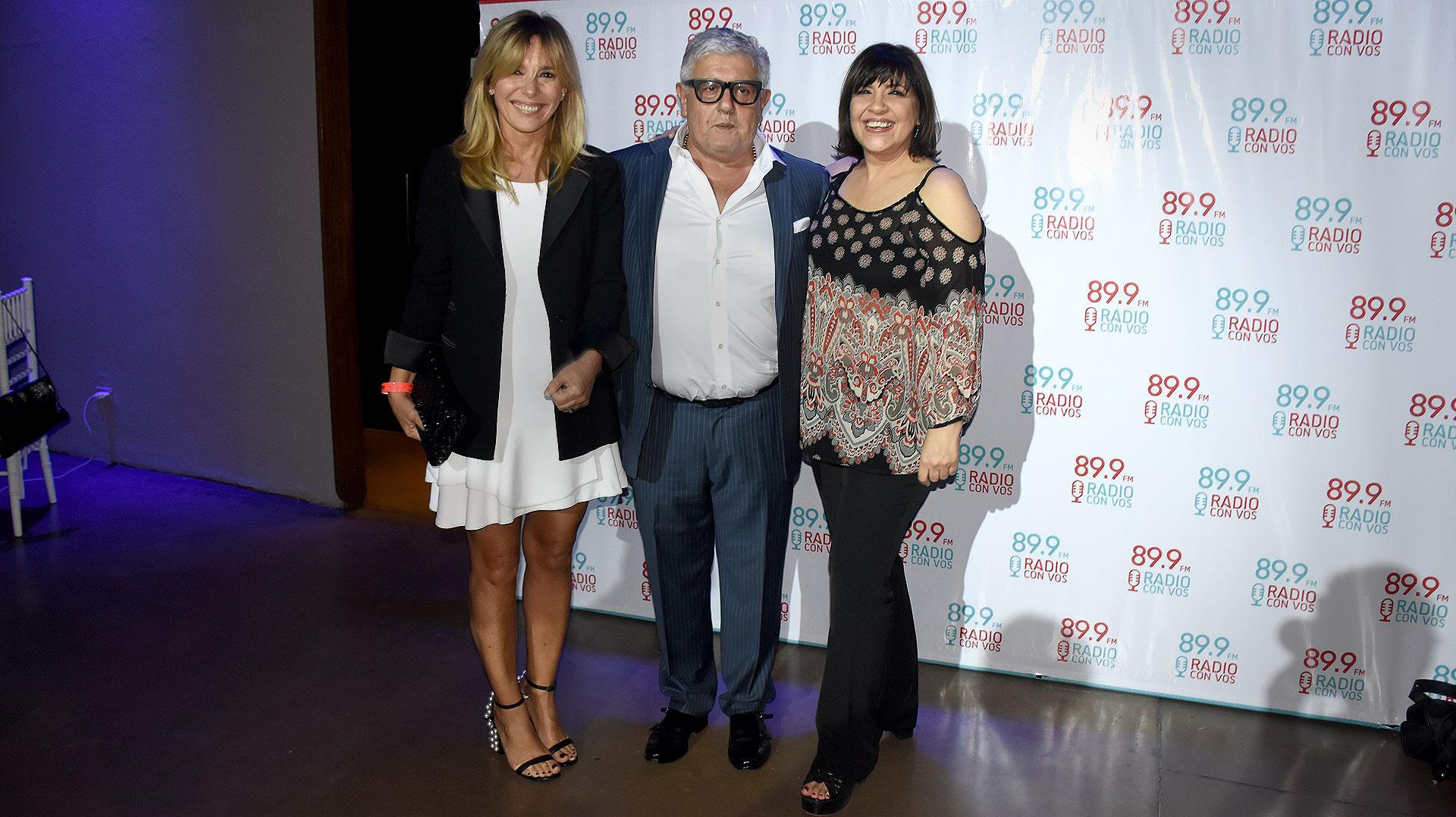 Grace Ratto, Carlos Gorosito y Elizabeth Vernaci