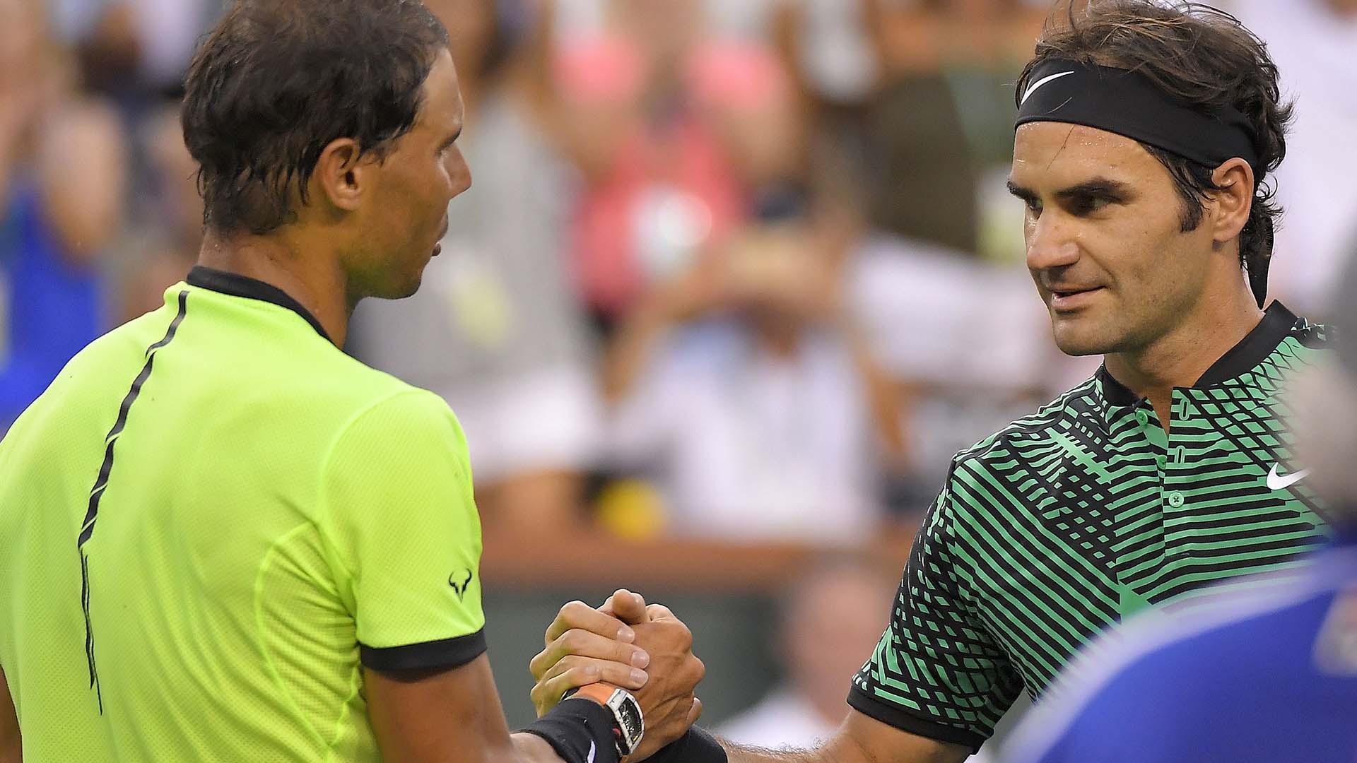 El suizo y el español se volvieron a cruzaro en Indian Wells (AP)