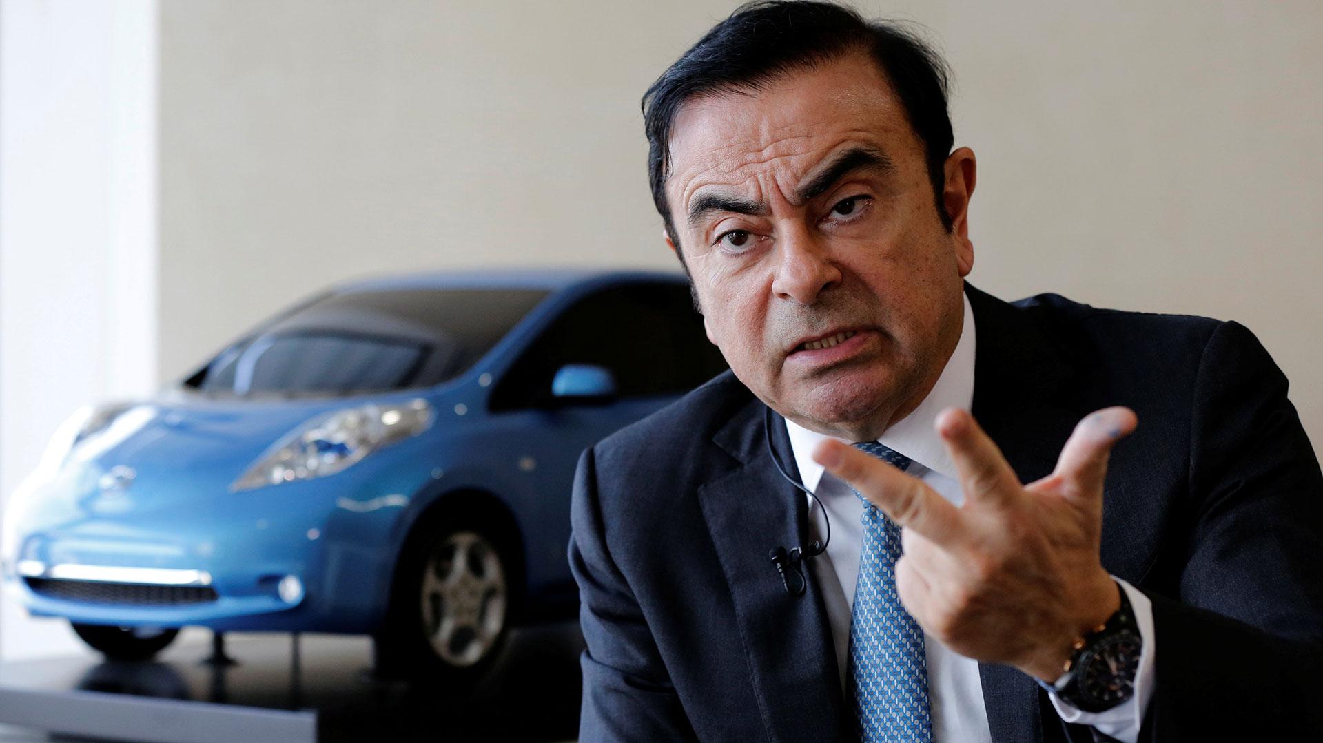 Carlos Ghosn (Reuters)