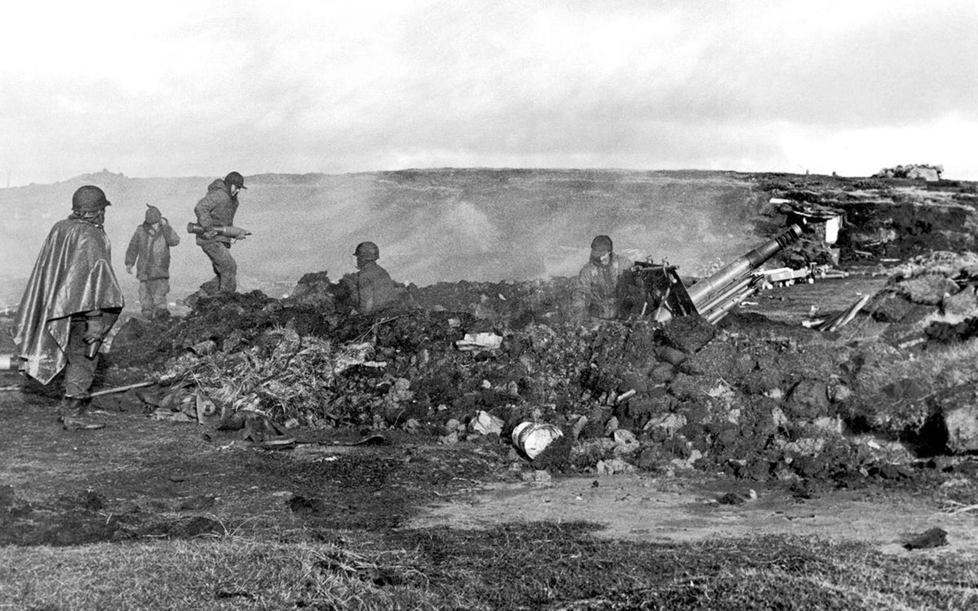 En mayo de 1982, un escuadrón del ejército argentino tomó posesión en Puerto Mitre, uno de los establecimientos más grandes de la isla Gran Malvina (Reuters)