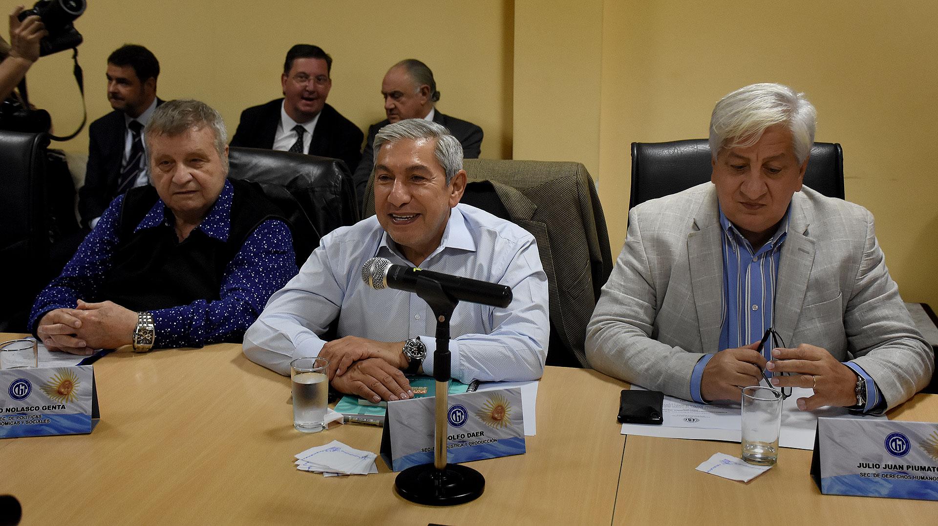 Rodolfo Daer lanzó duras críticas contra Moyano