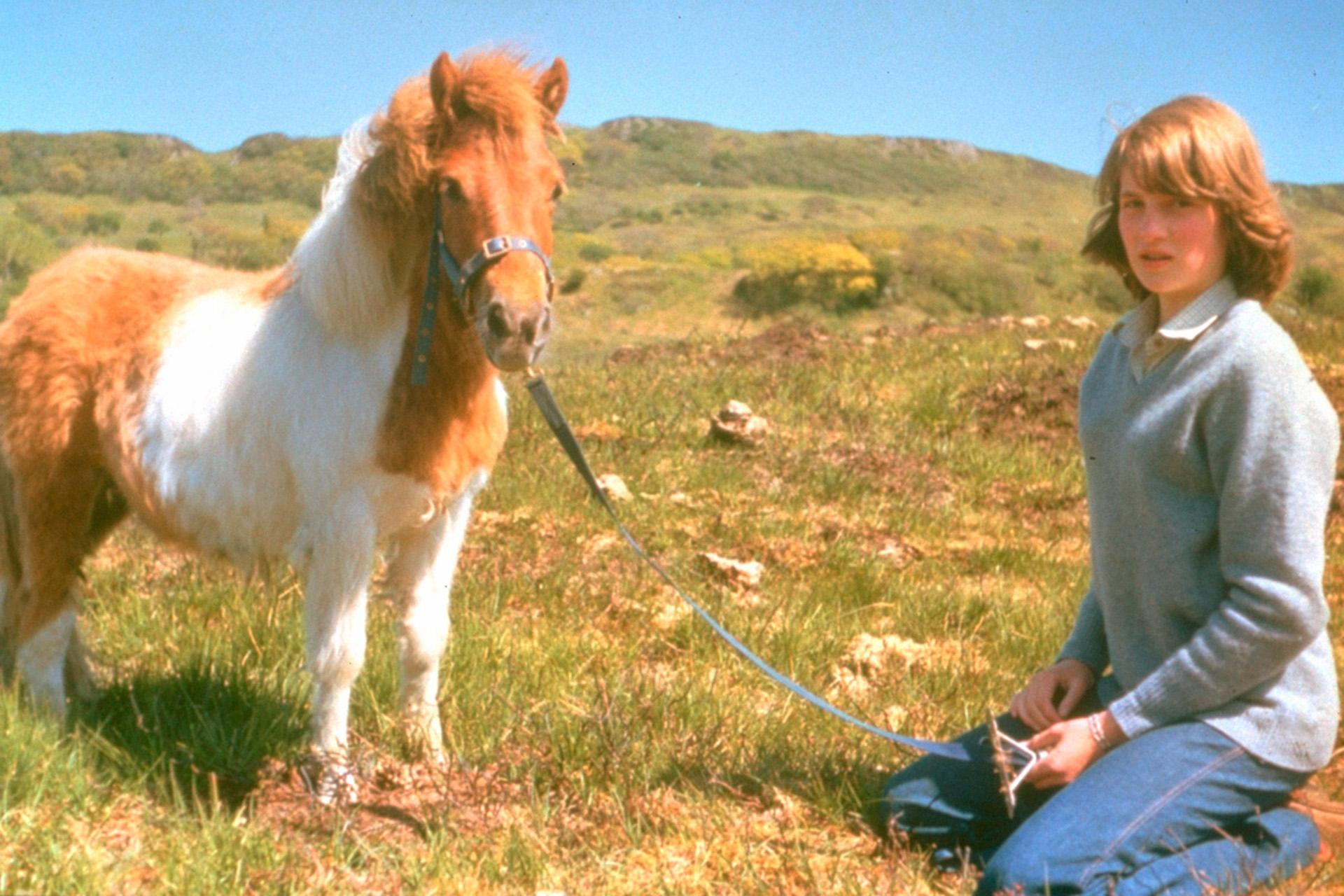 Amante de la naturaleza, Diana dedicabagran parte de su tiempo a los animales