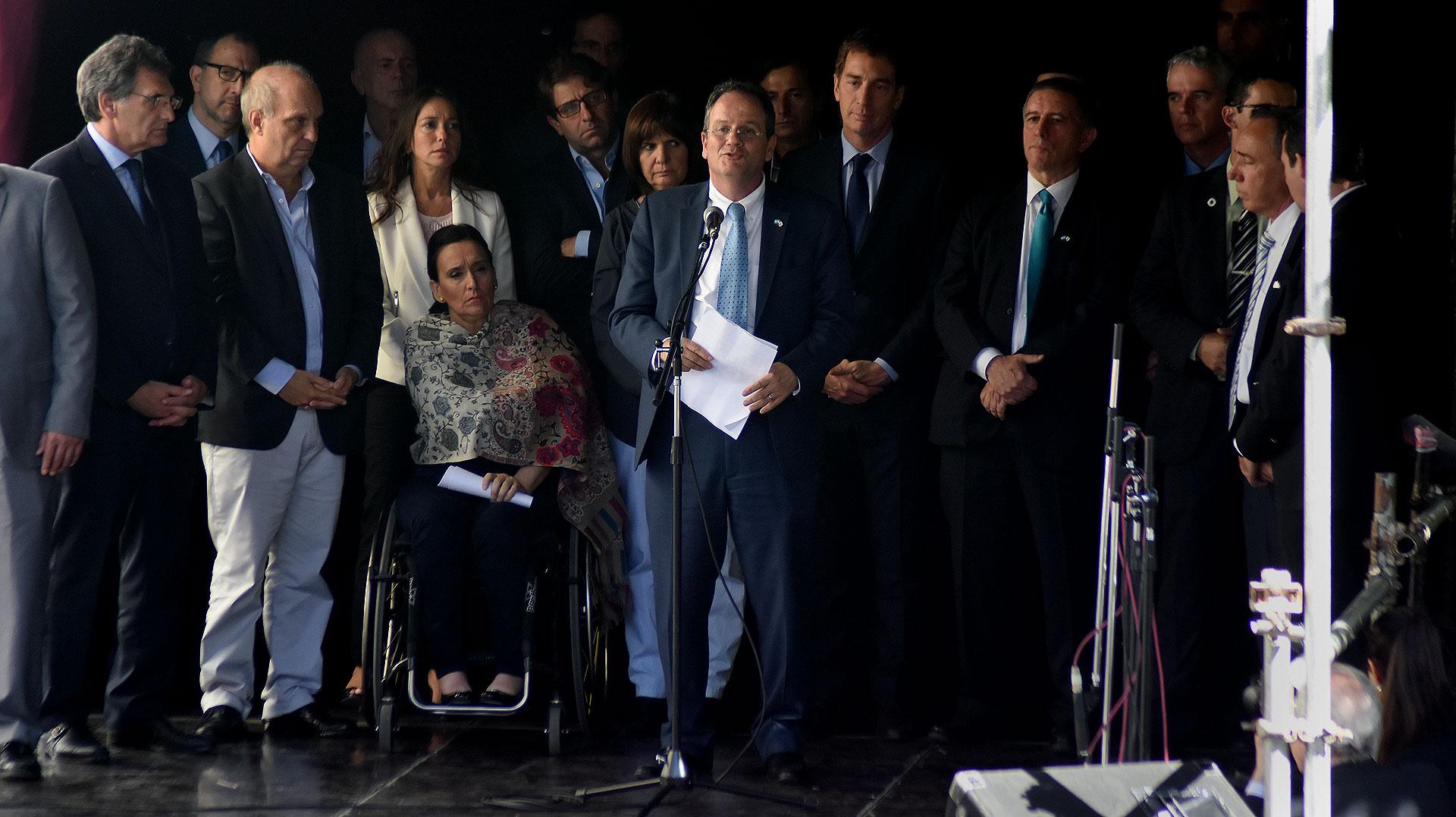El discurso del embajador de Israel, Ilán Sztulman