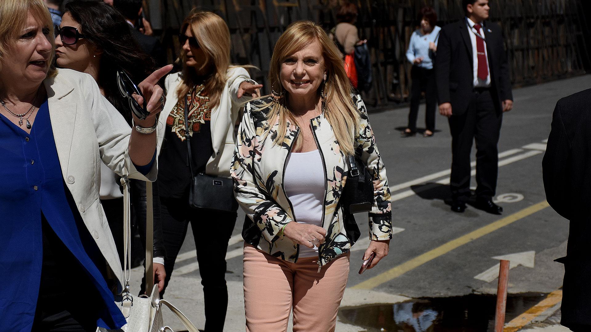 La dirigente María José Lubertino