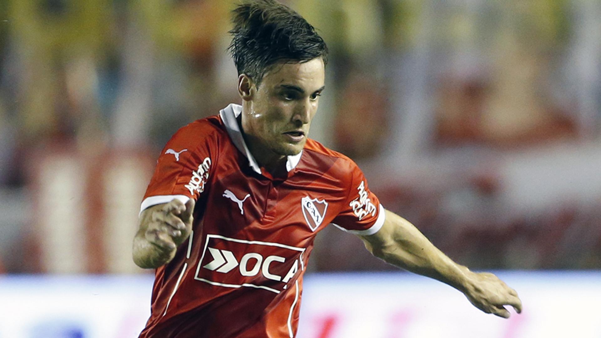 Defendiendo la camiseta de Independiente (Getty)