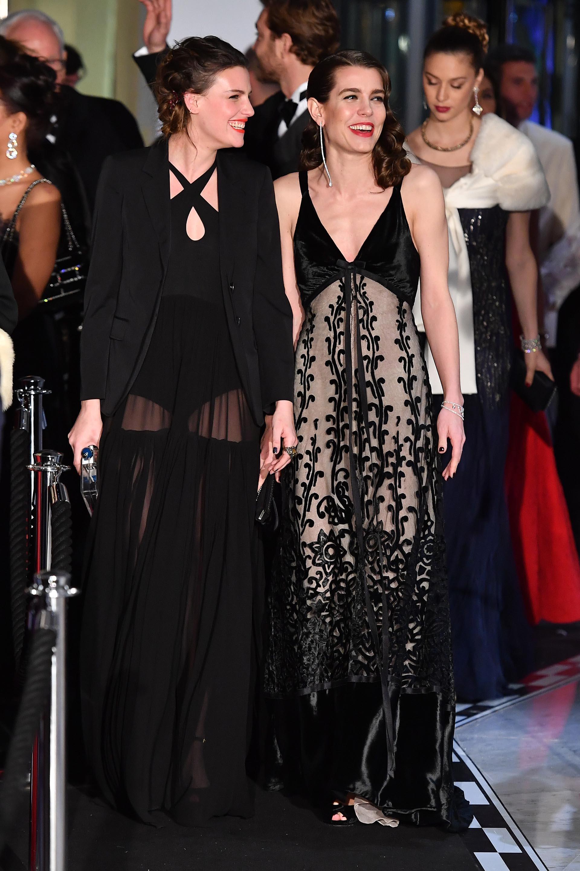 Divertidas, Juliette Maillot y Charlotte Casiraghi