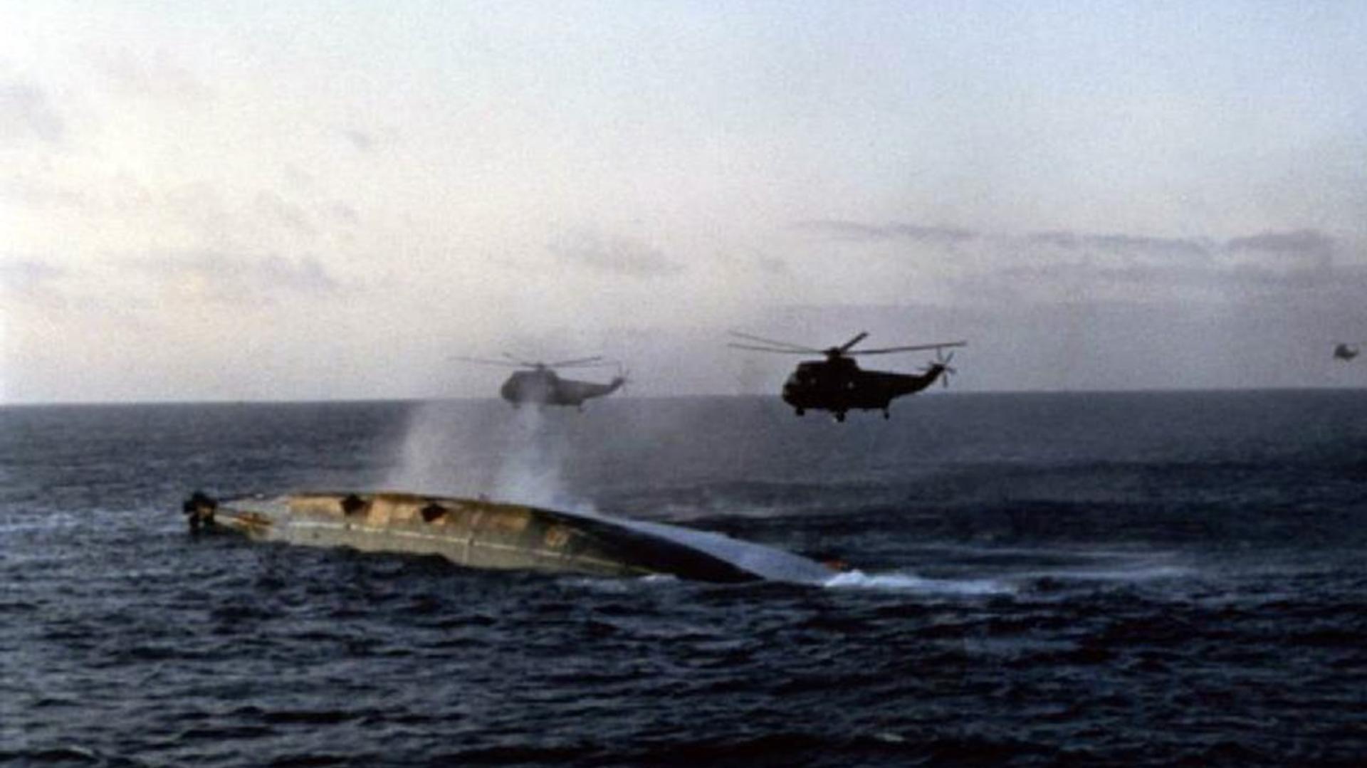 Las tropas de la Royal Navy sufrieron 277 bajas y tuvieron 777 heridos. Durantela guerra 7 buques fueron hundidos o destruidos, 8 fueron dejados inactivos, 5 fueron dañados y 10 averiados