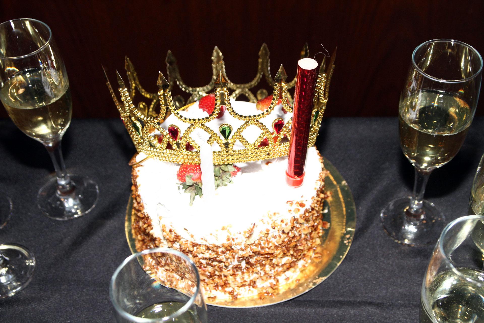 La torta de cumpleaños