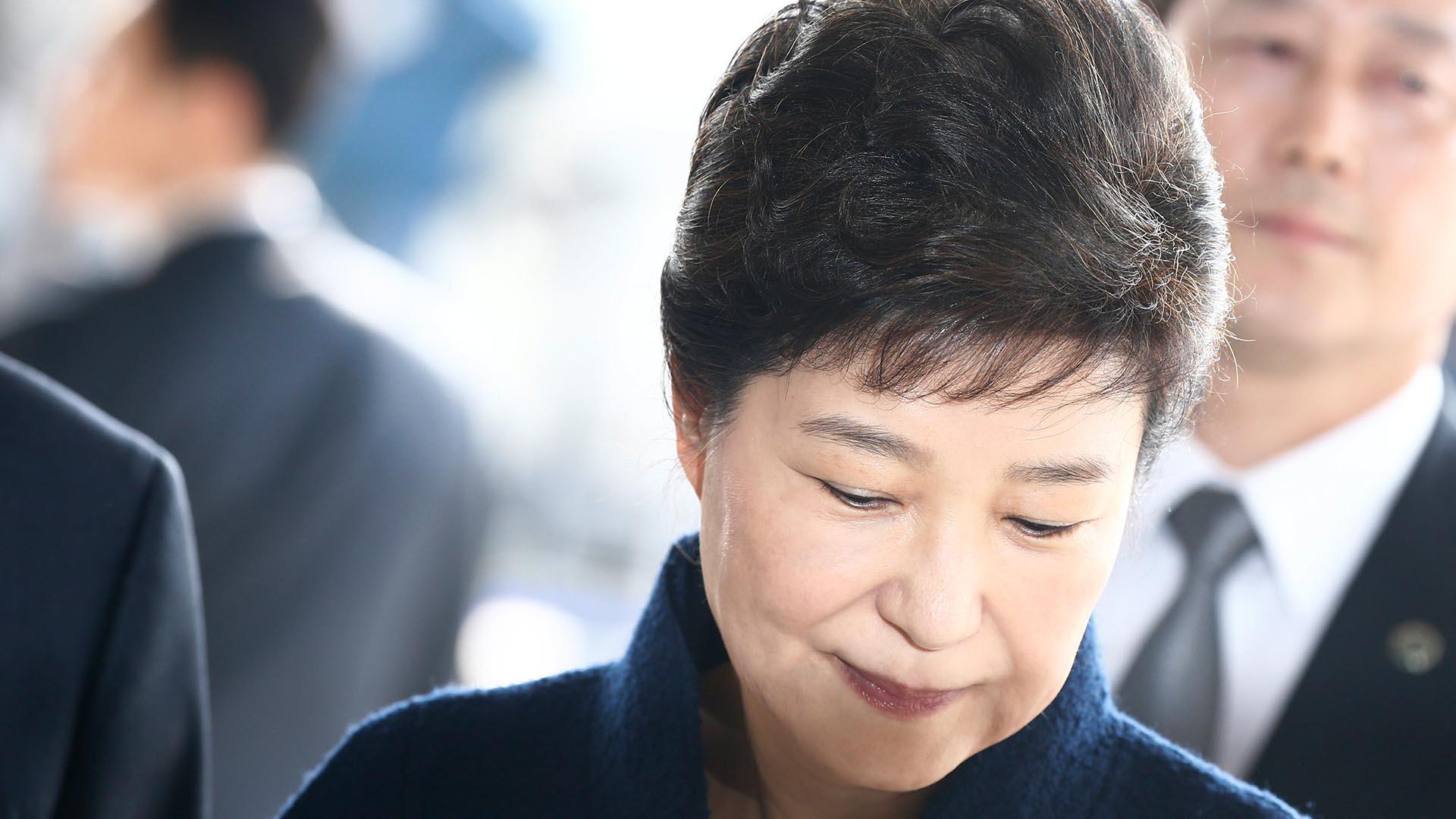 La ex mandataria de Corea del Sur, Park Geun-hye (EFE)