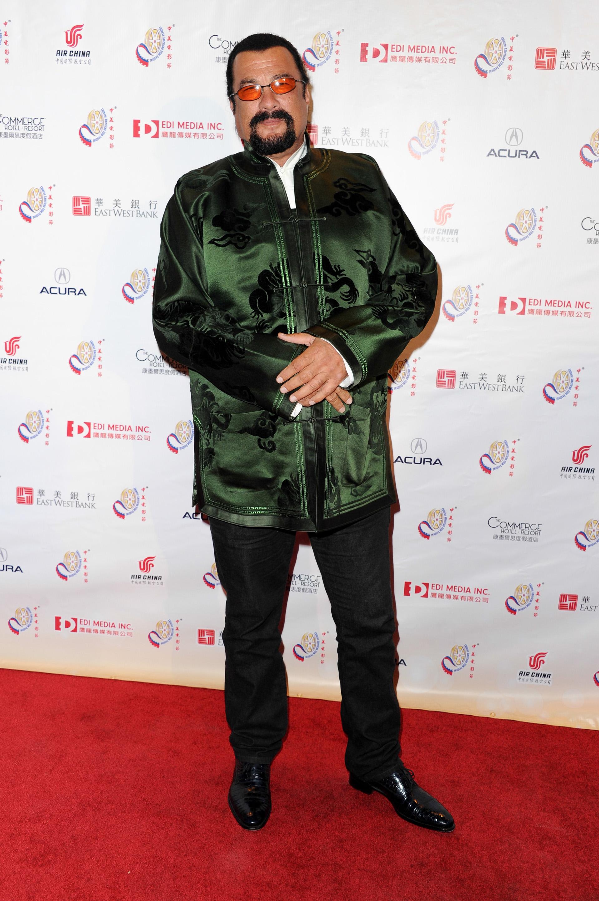 La periodista y actriz Lisa Guerrero reveló que hace 20 años Steven Seagal la acosó sexualmente. Decidió contarlo conmovida por las denuncias de abuso contra Harvey Weinstein (Getty Images)