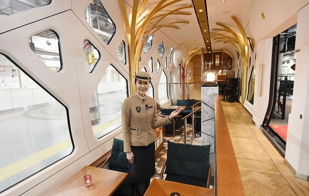 Los boletos para viajar en el tren más lujoso de Japón ya están reservados hasta marzo de 2018