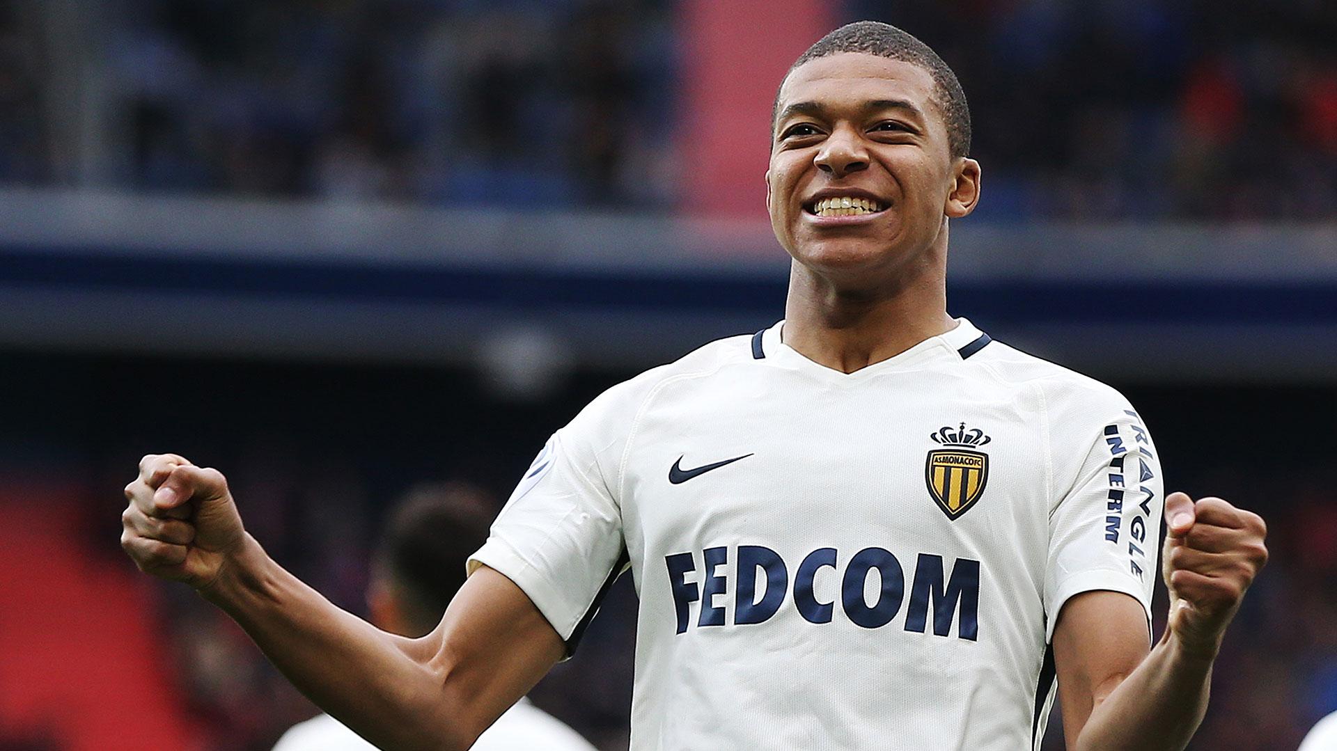 (AFP) Kylian Mbappé (Mónaco) es un joven delantero que está en la órbita del conjunto merengue