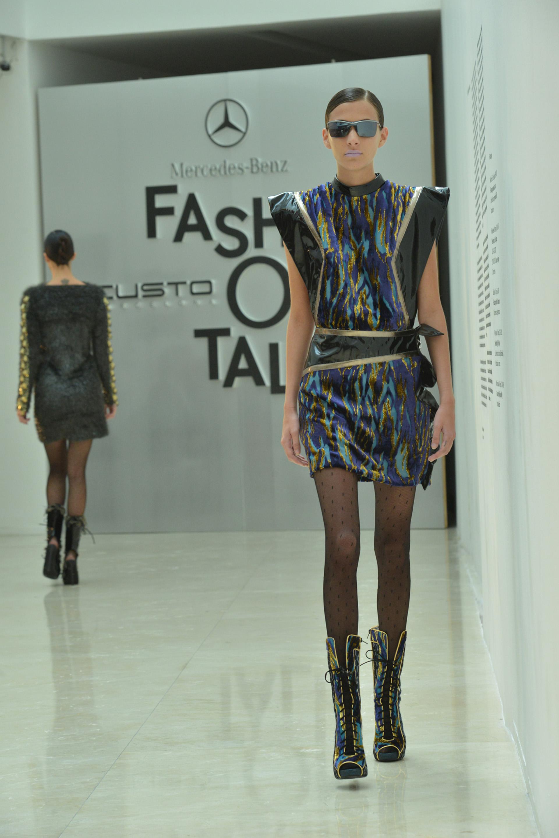 Custo Barcelona presentó por primera vez una colección en Argentina; se trata de la propuesta otoño-invierno 17/18 exhibida en los recientes Fashion Week de Nueva York y Madrid