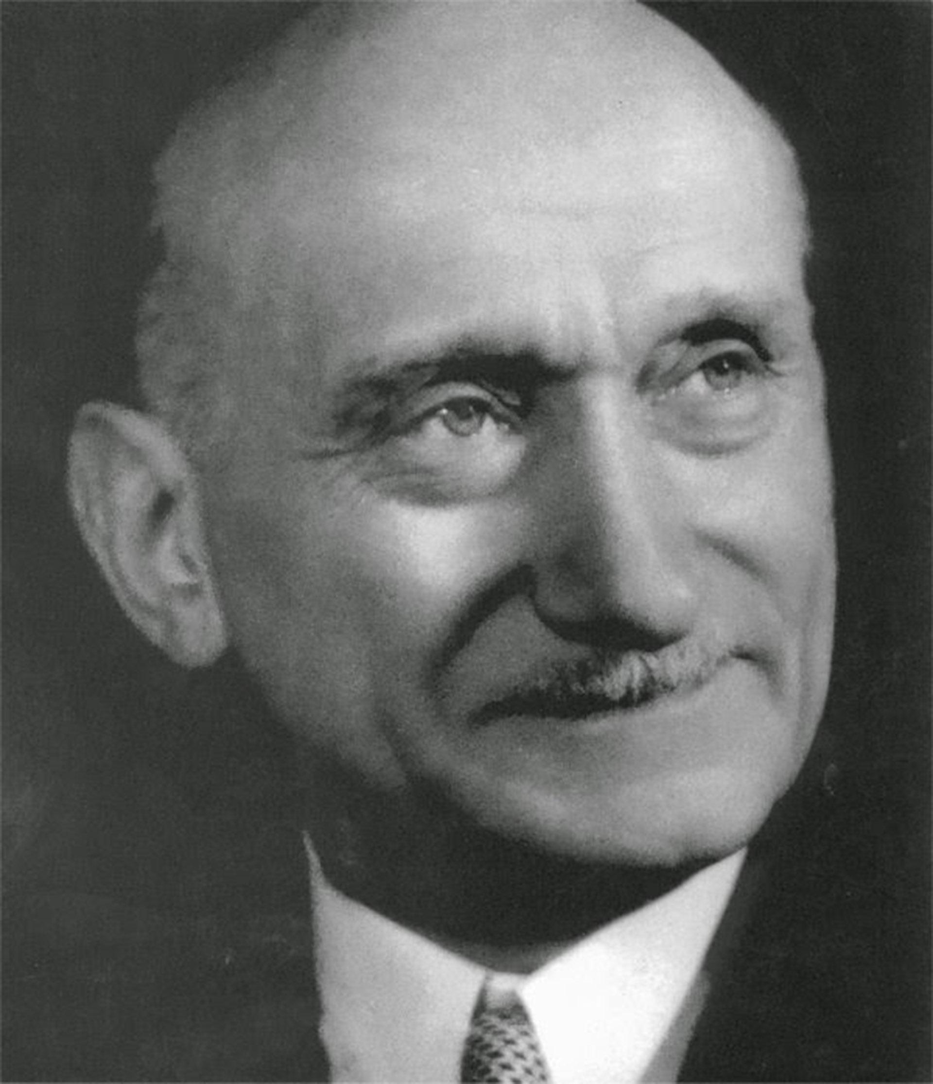 Robert Schuman, uno de los padres de la Unión Europea