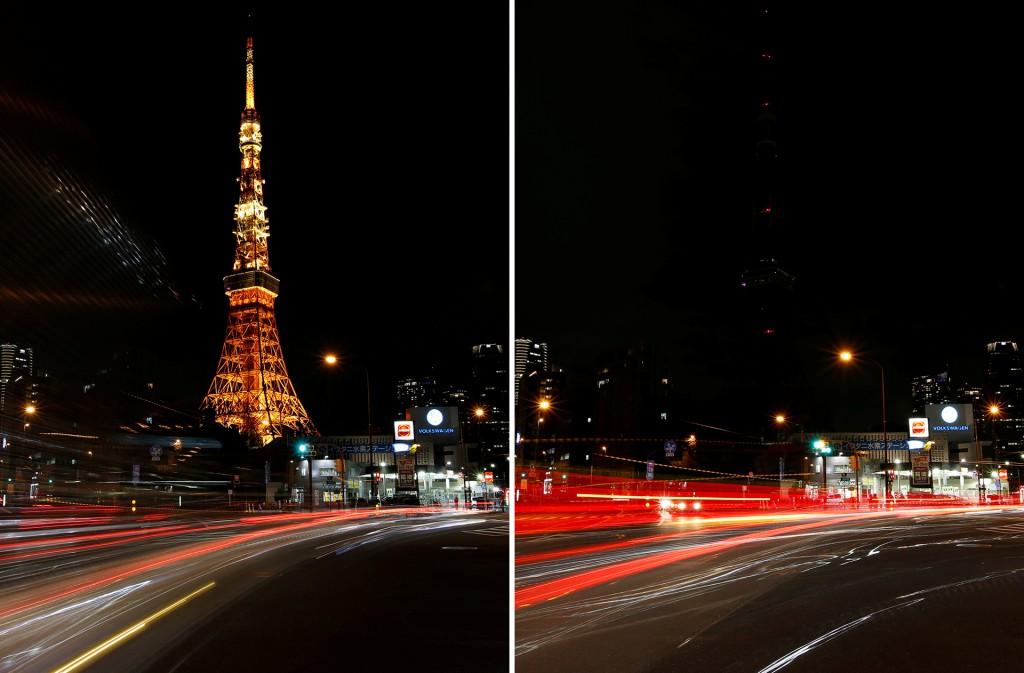 Resultado de imagen para Torre de Shanghái  hora del planeta