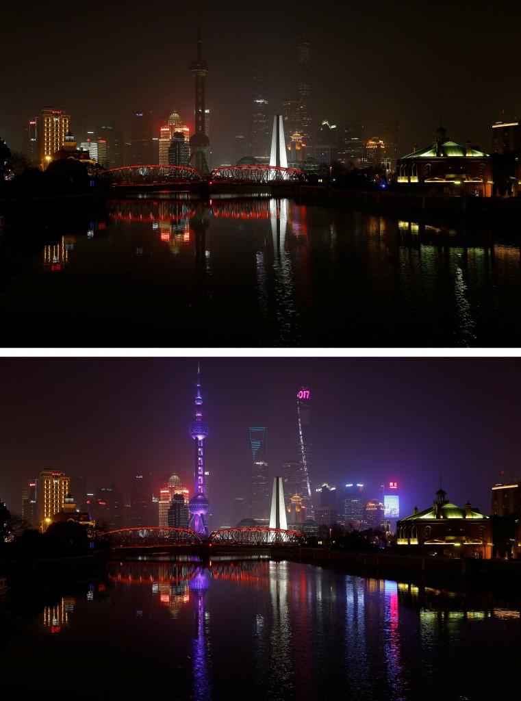 Otra imagen de Shanghai, en China (Reuters)