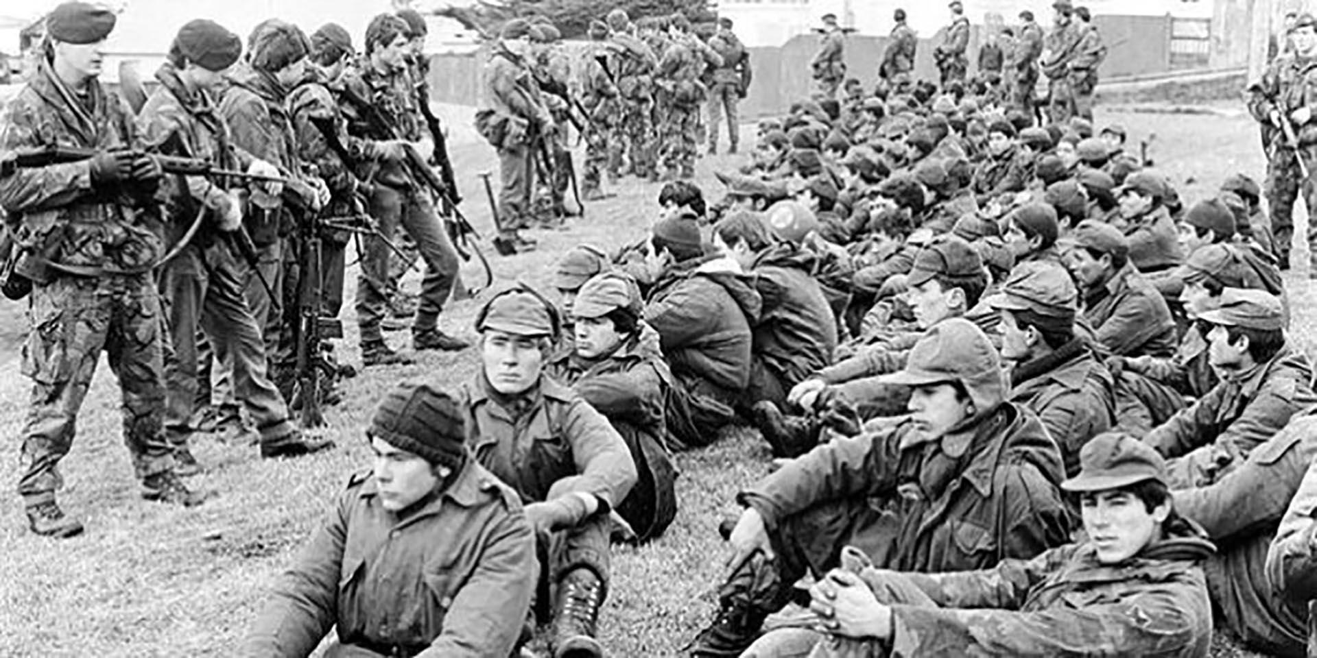 Más allá de la derrota hubo muchos oficiales, suboficiales y soldados que dieron muestra de extraordinario valor y liderazgo en condicionesextremas